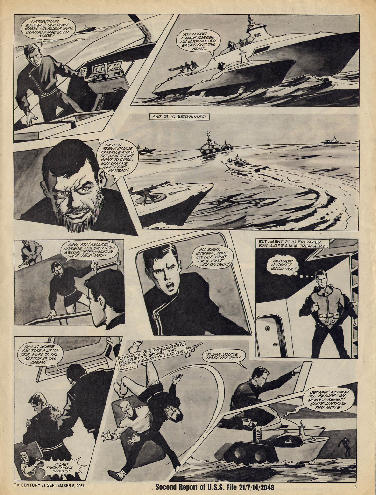 Read online TV Century 21 (TV 21) comic -  Issue #137 - 3