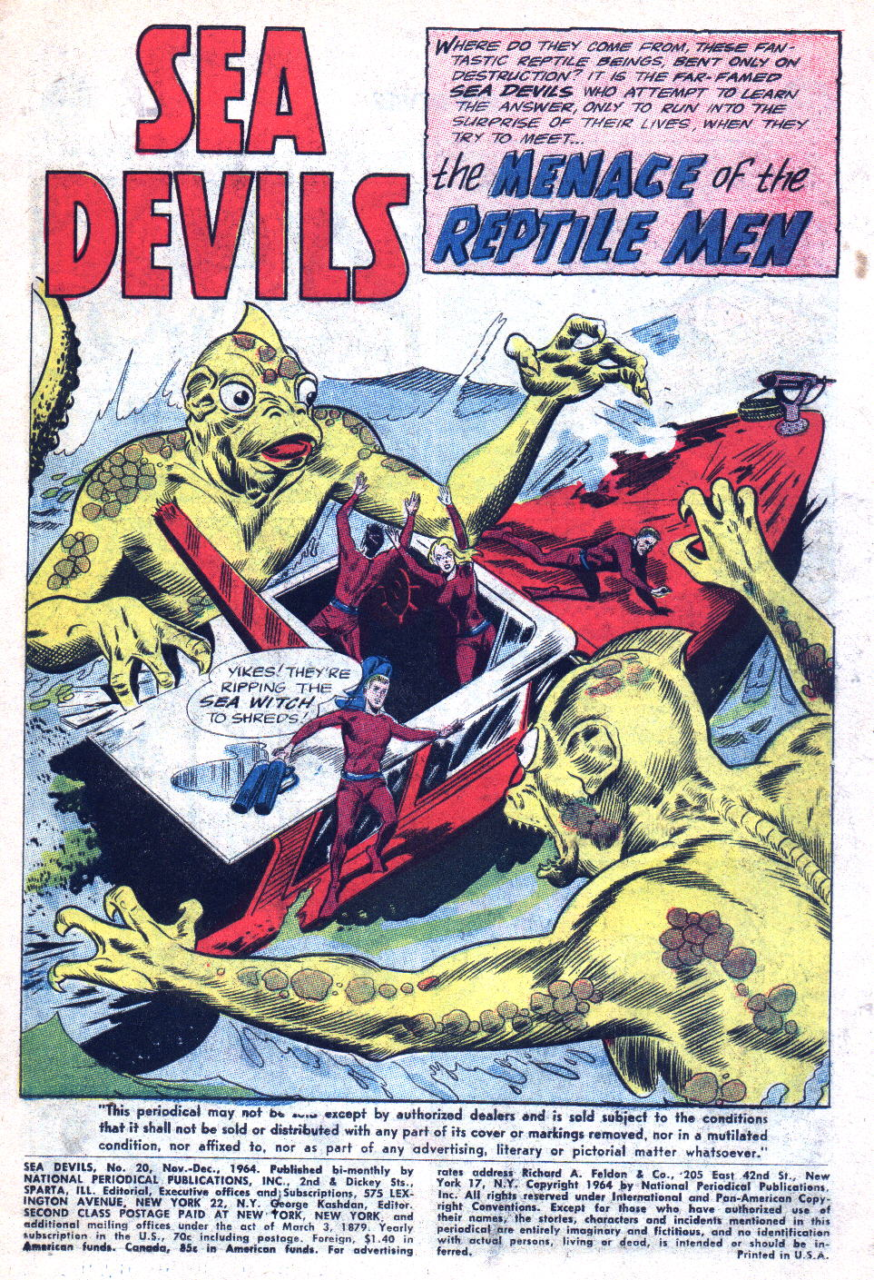 Read online Sea Devils comic -  Issue #20 - 3