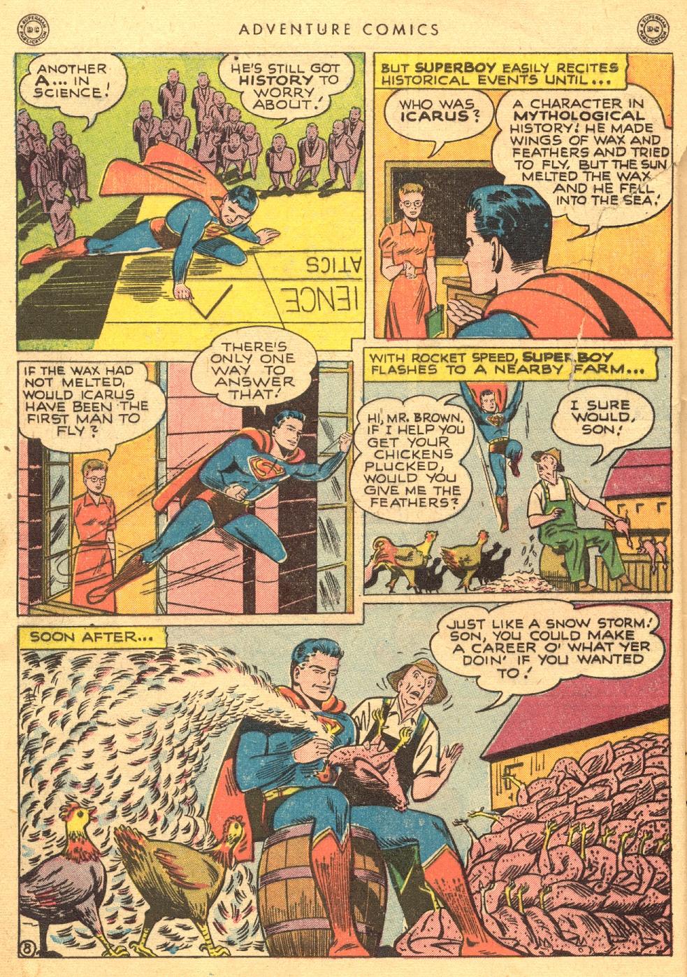 Read online Adventure Comics (1938) comic -  Issue #133 - 10