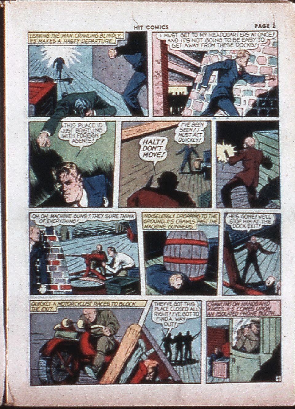 Read online Hit Comics comic -  Issue #4 - 25