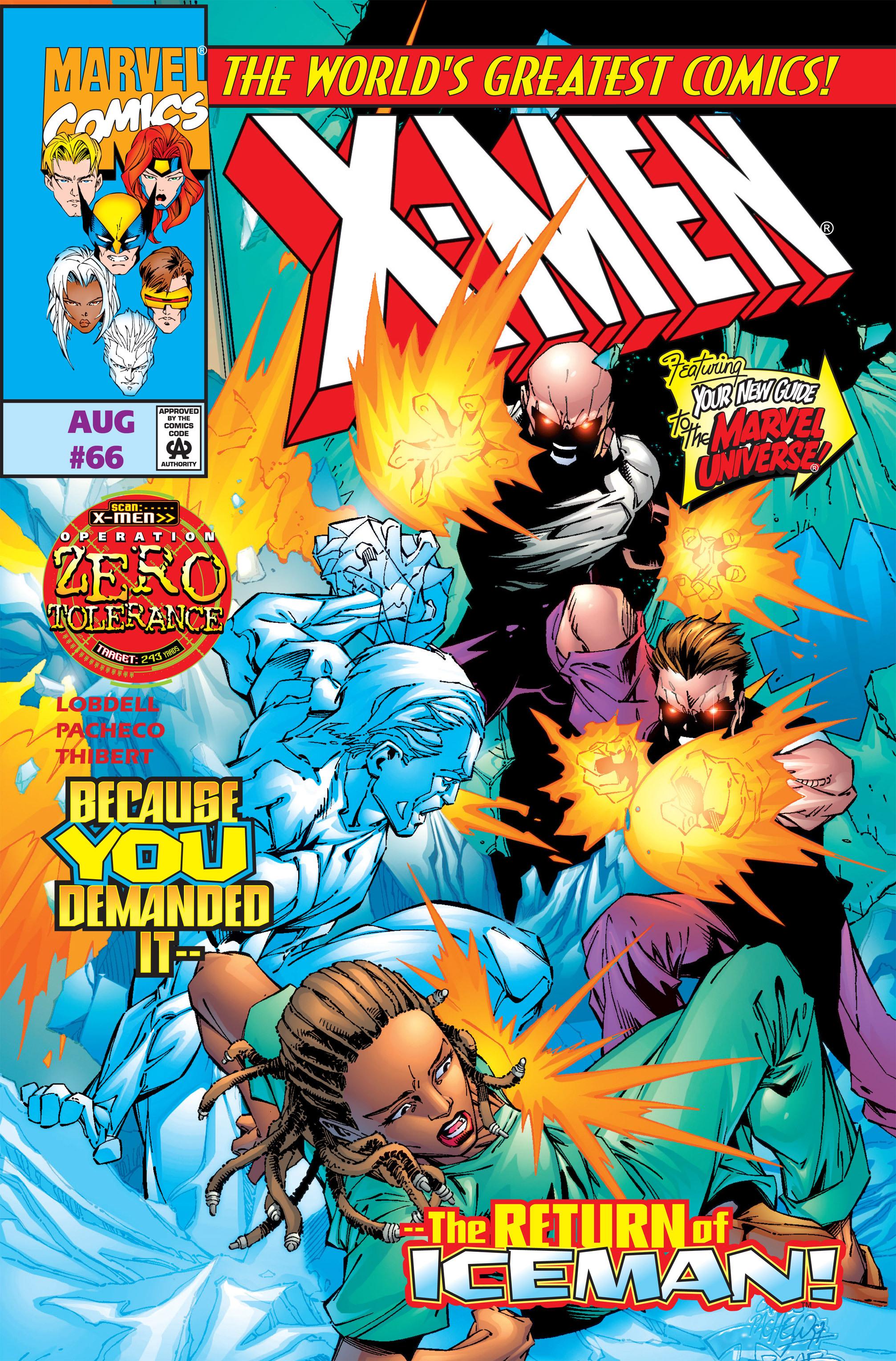 X-Men (1991) 66 Page 0