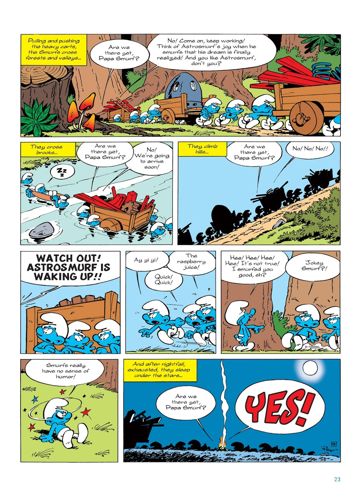 Read online The Smurfs comic -  Issue #7 - 23