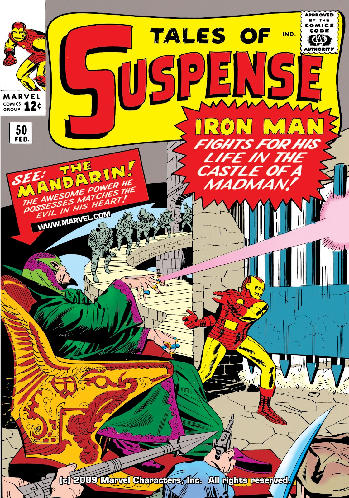 Tales of Suspense (1959) issue 50 - Page 1