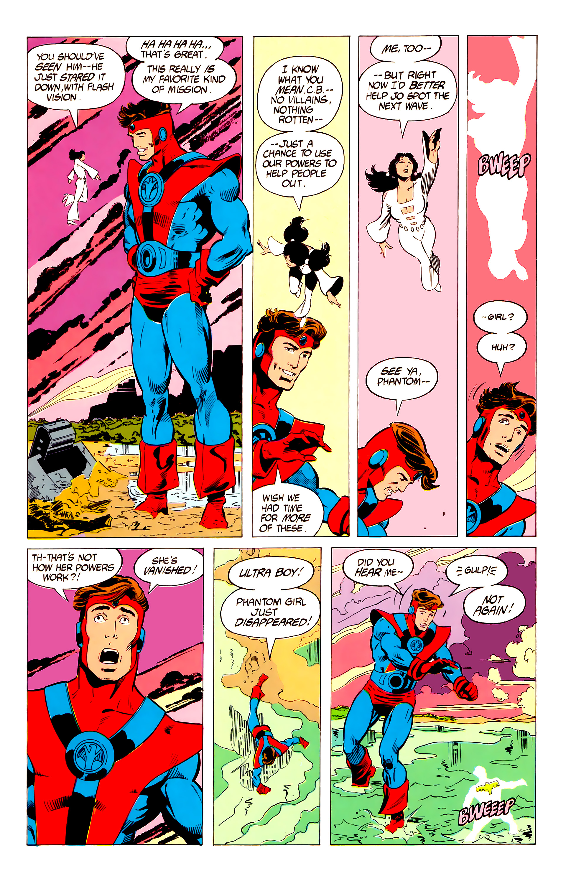 Legion of Super-Heroes (1984) 19 Page 4