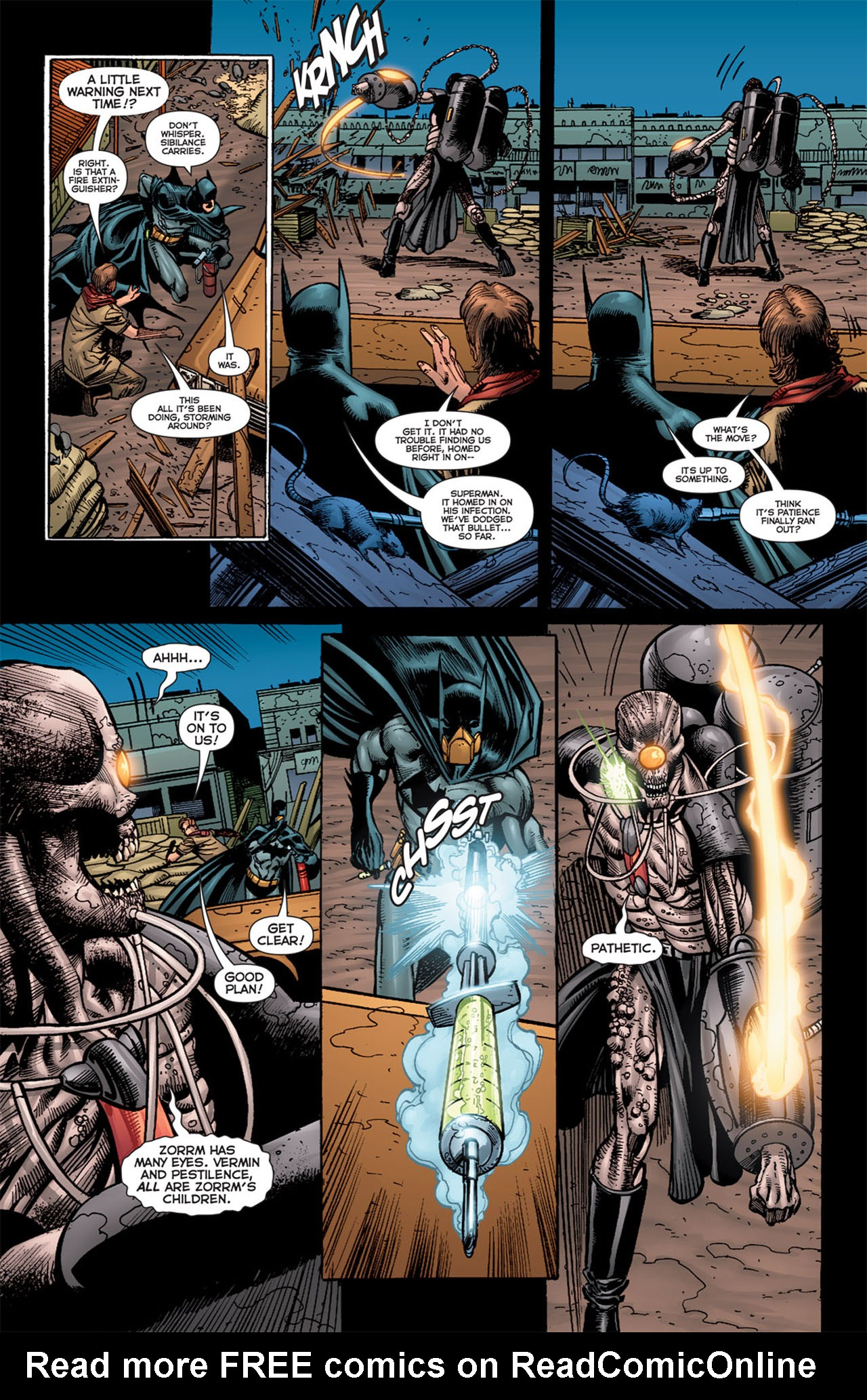 Read online 52 Aftermath: The Four Horsemen comic -  Issue #5 - 12