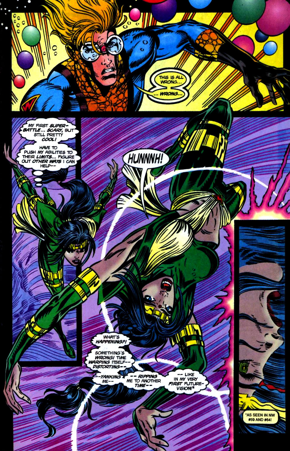 The New Warriors Issue #68 #72 - English 21