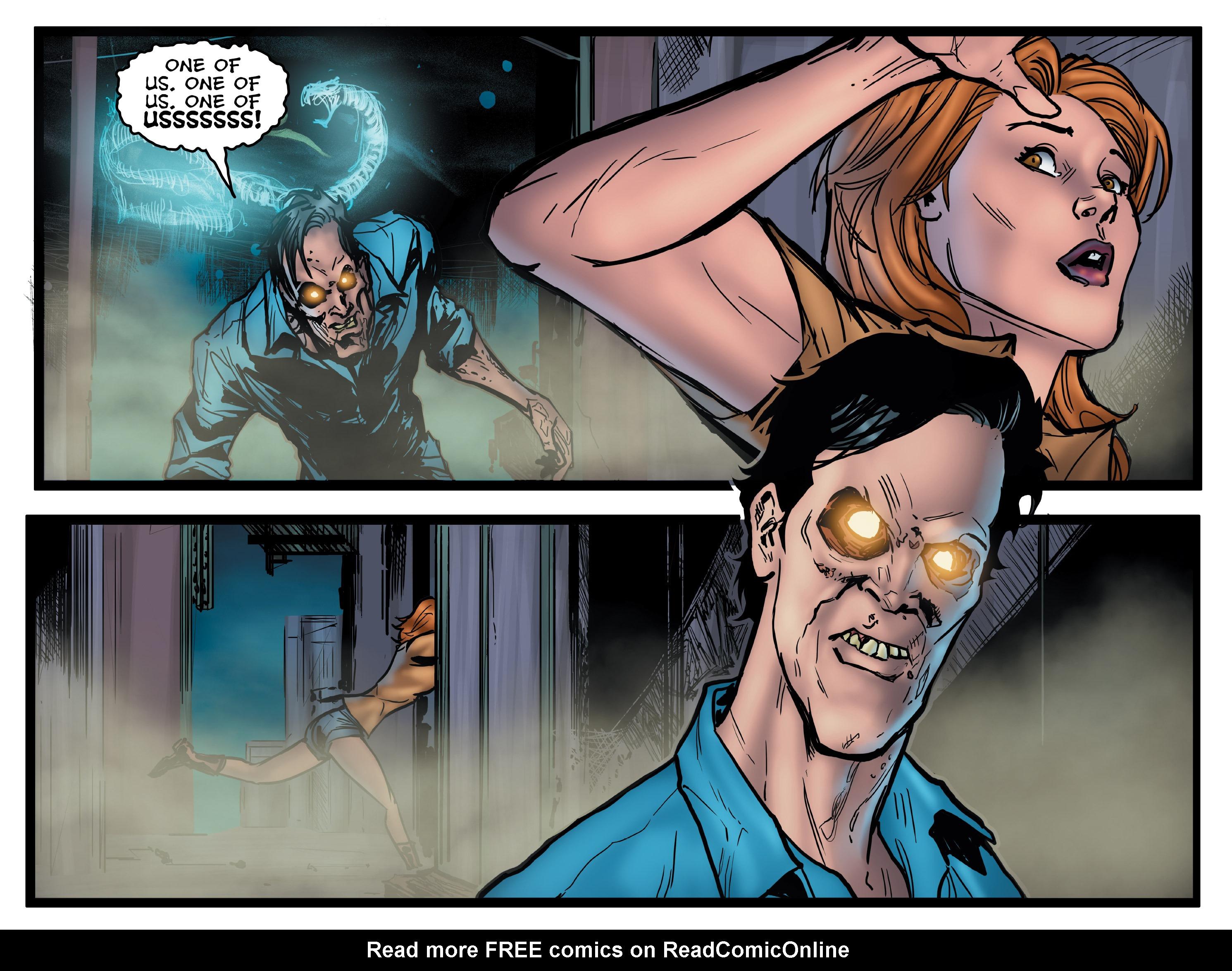 Read online Evil Dead 2: Dark Ones Rising comic -  Issue #5 - 16