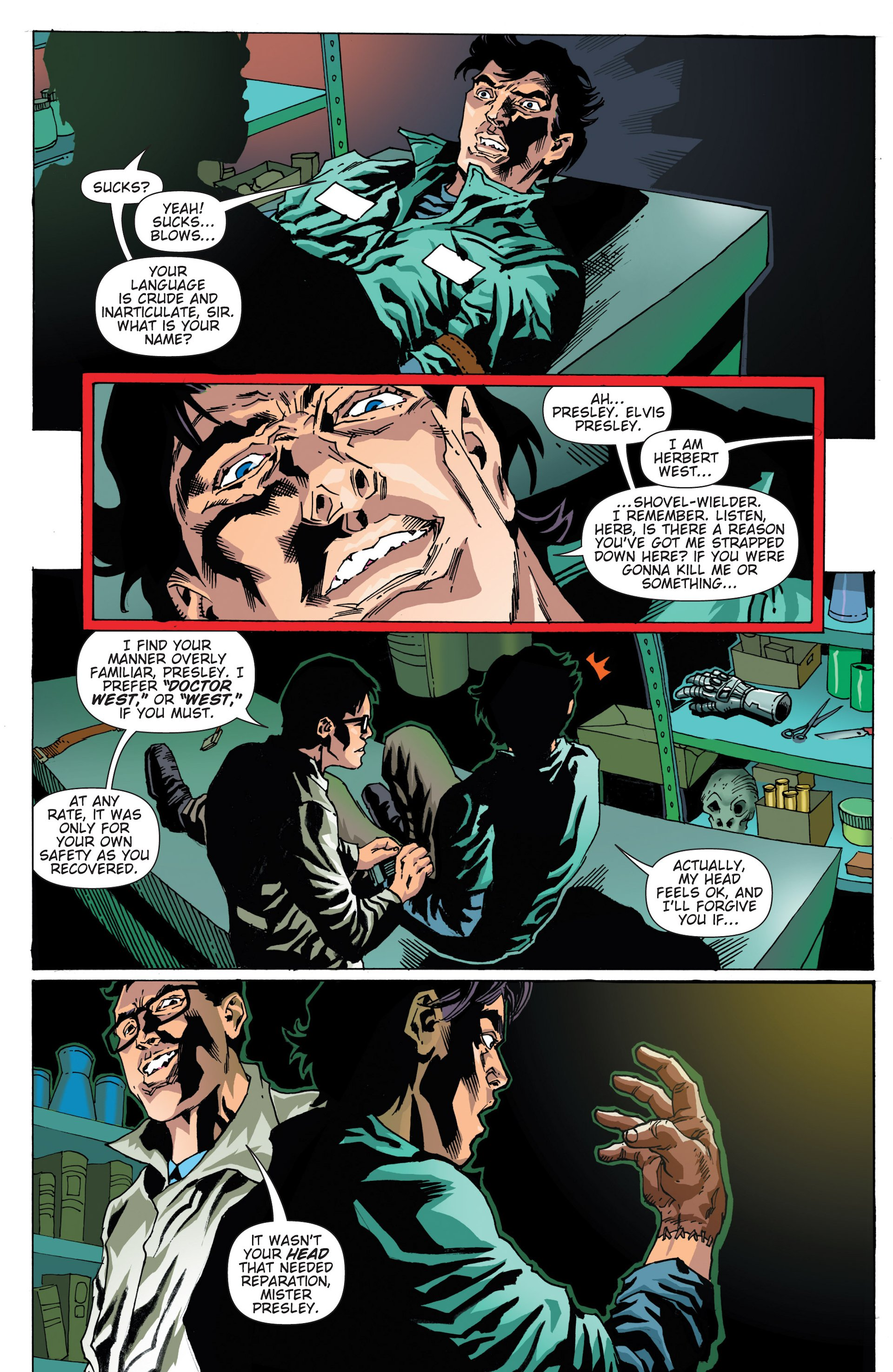 Read online Army of Darkness/Reanimator comic -  Issue #Army of Darkness/Reanimator Full - 7