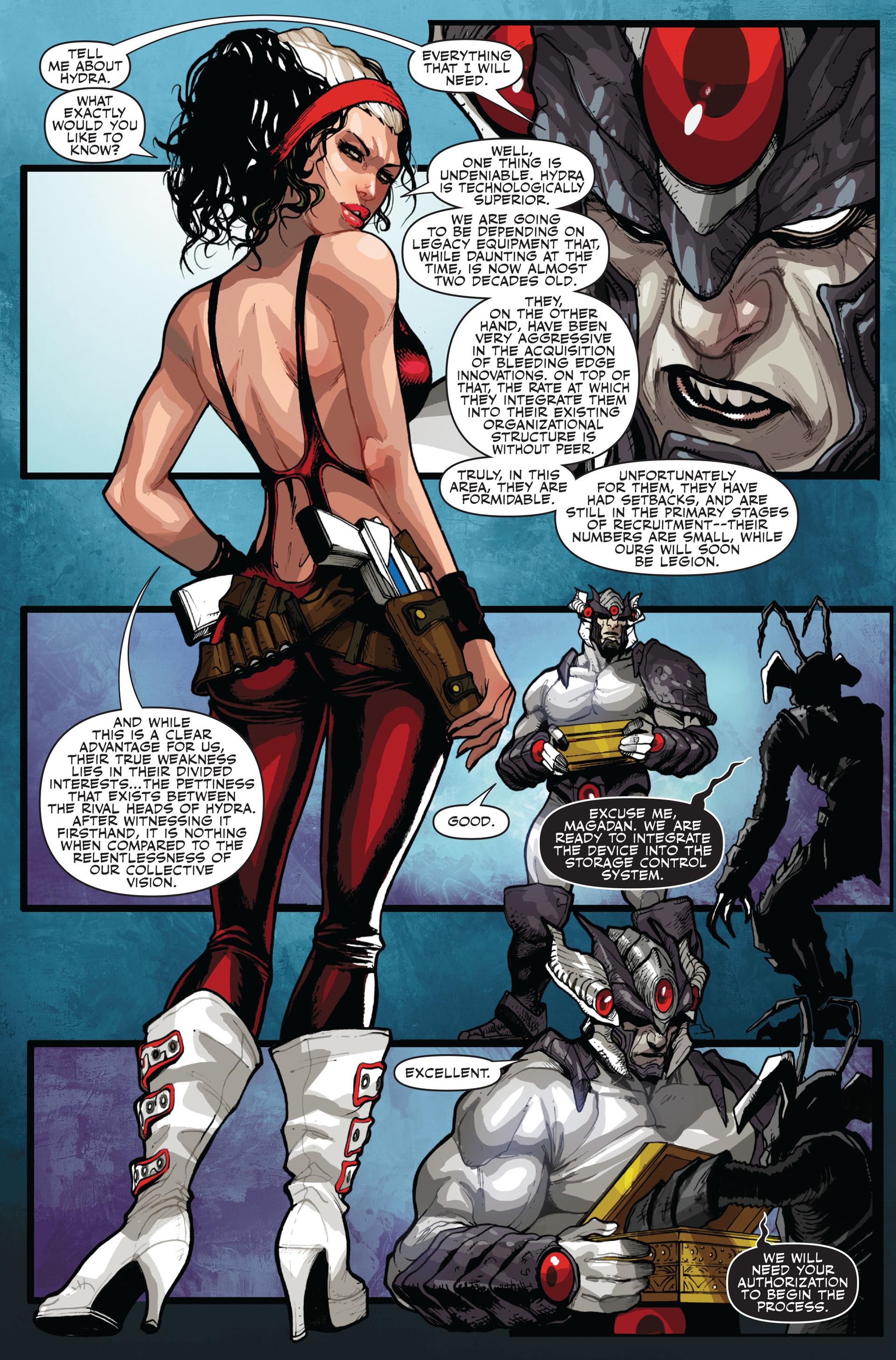 Read online Secret Warriors comic -  Issue #14 - 21