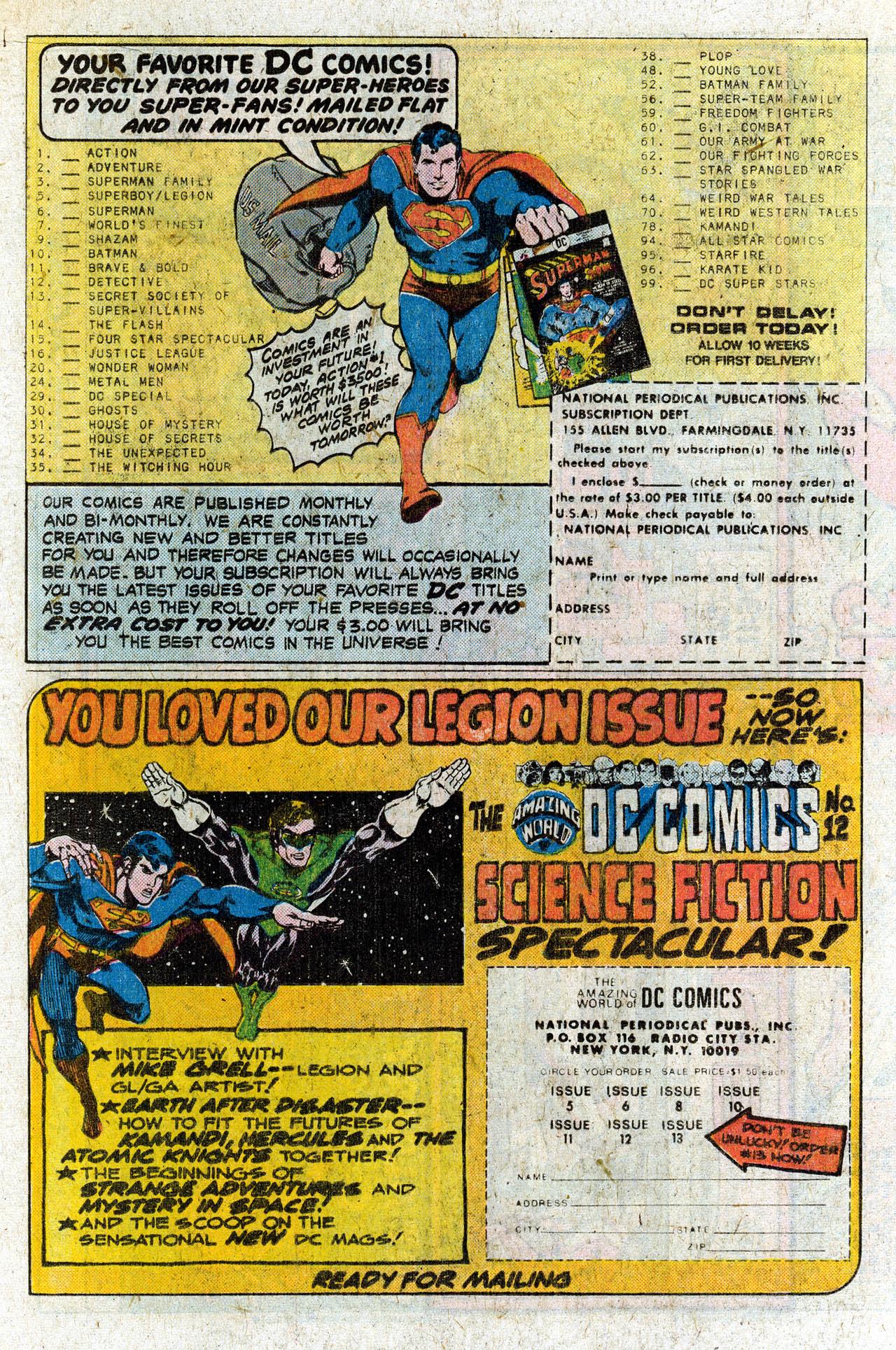 Read online Secret Society of Super-Villains comic -  Issue #4 - 19