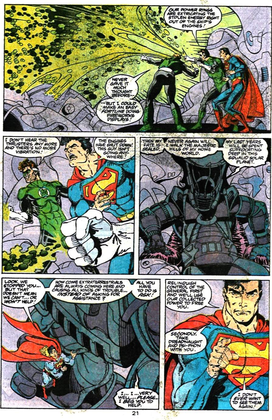 Read online Adventures of Superman (1987) comic -  Issue #473 - 23