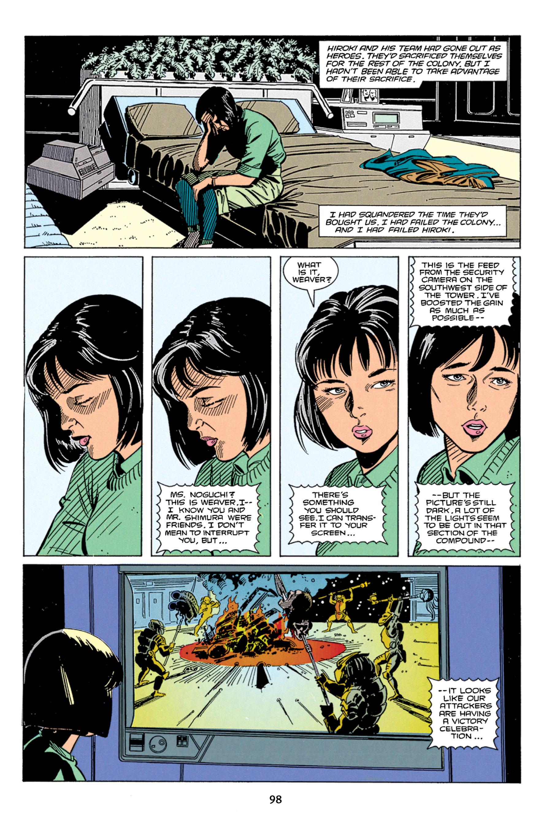 Read online Aliens vs. Predator Omnibus comic -  Issue # _TPB 1 Part 1 - 98