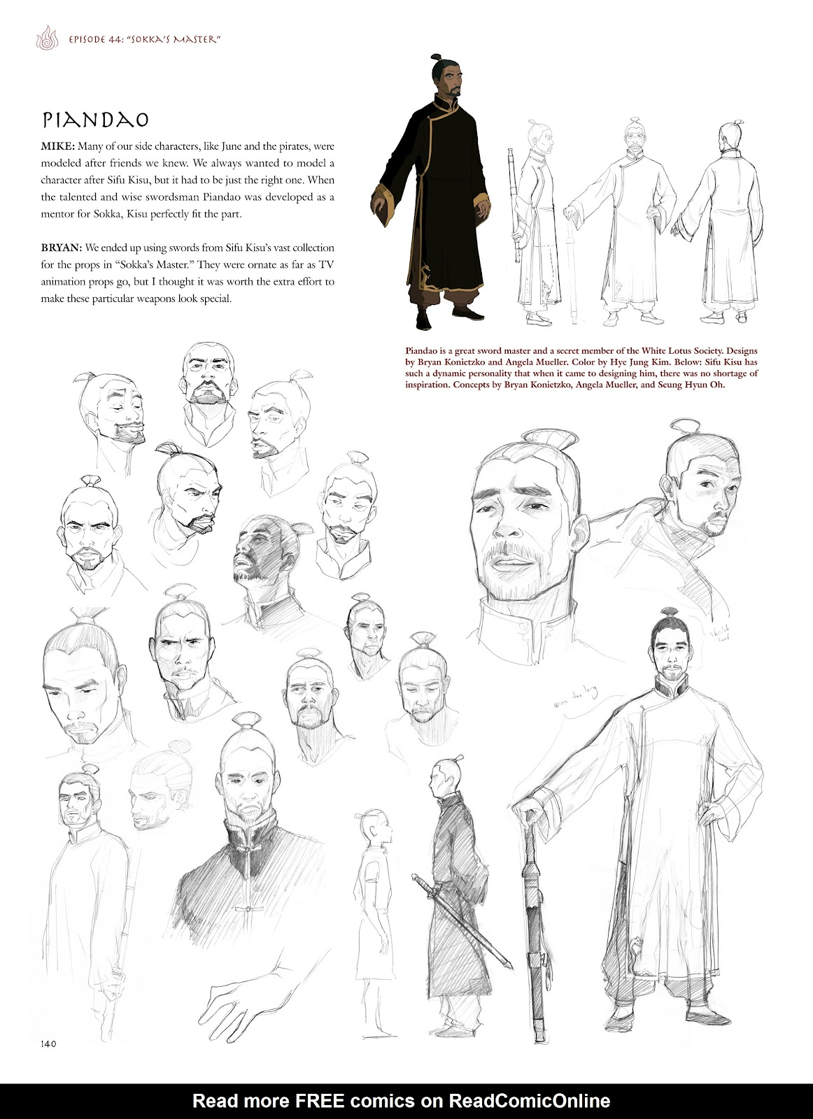 Read online Avatar: The Last Airbender - The Art of the Animated Series comic -  Issue # TPB (Part 2) - 37