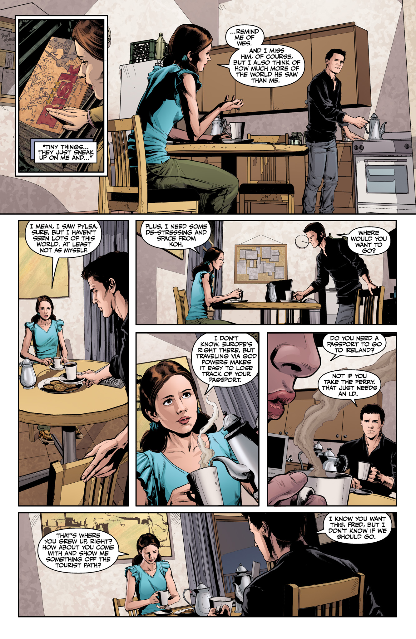 Read online Angel & Faith Season 10 comic -  Issue #15 - 5