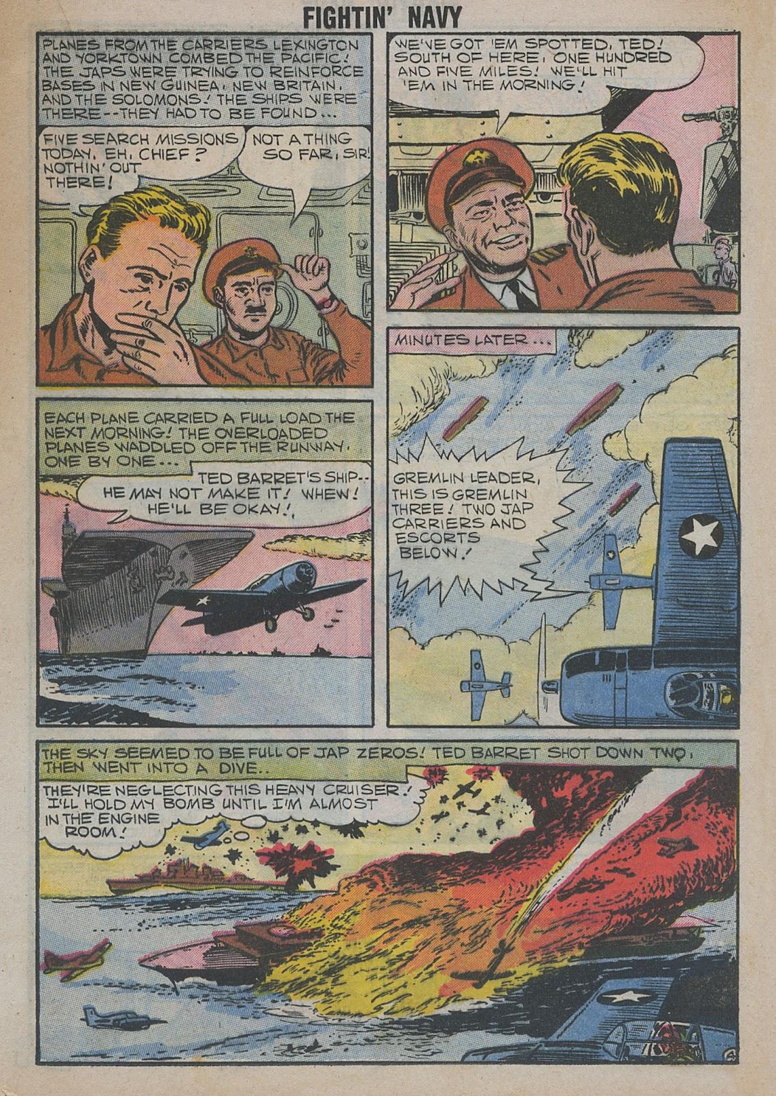Read online Fightin' Navy comic -  Issue #82 - 41