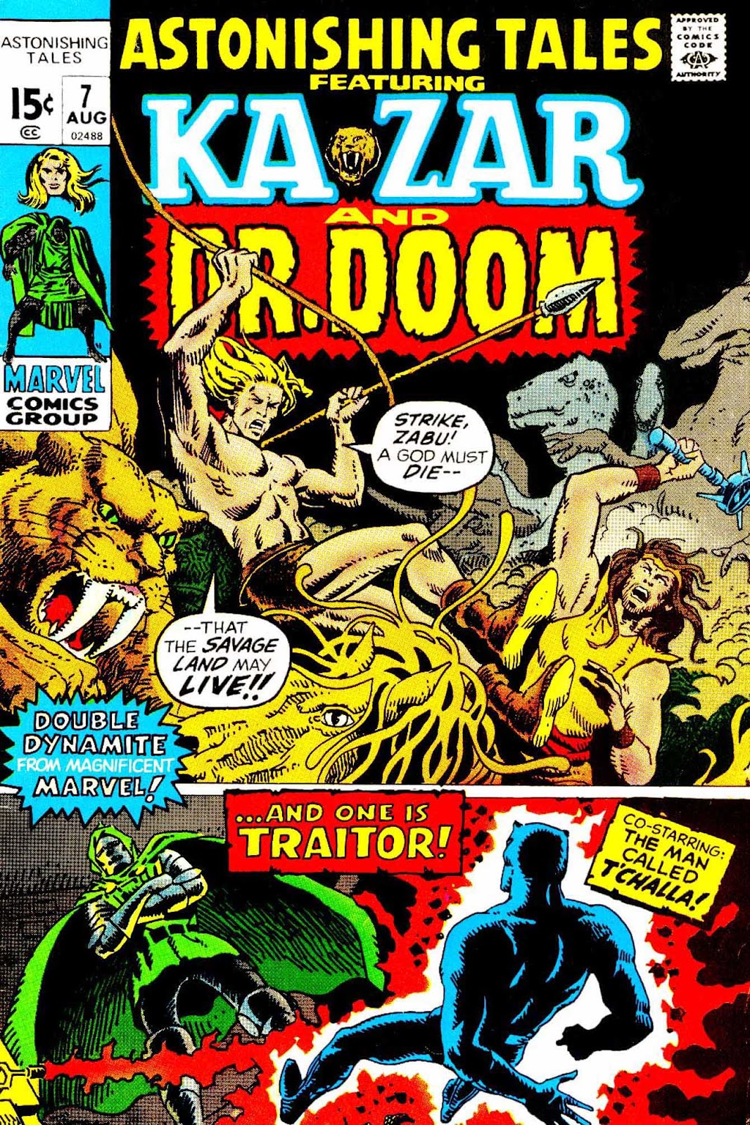 Astonishing Tales (1970) issue 7 - Page 1