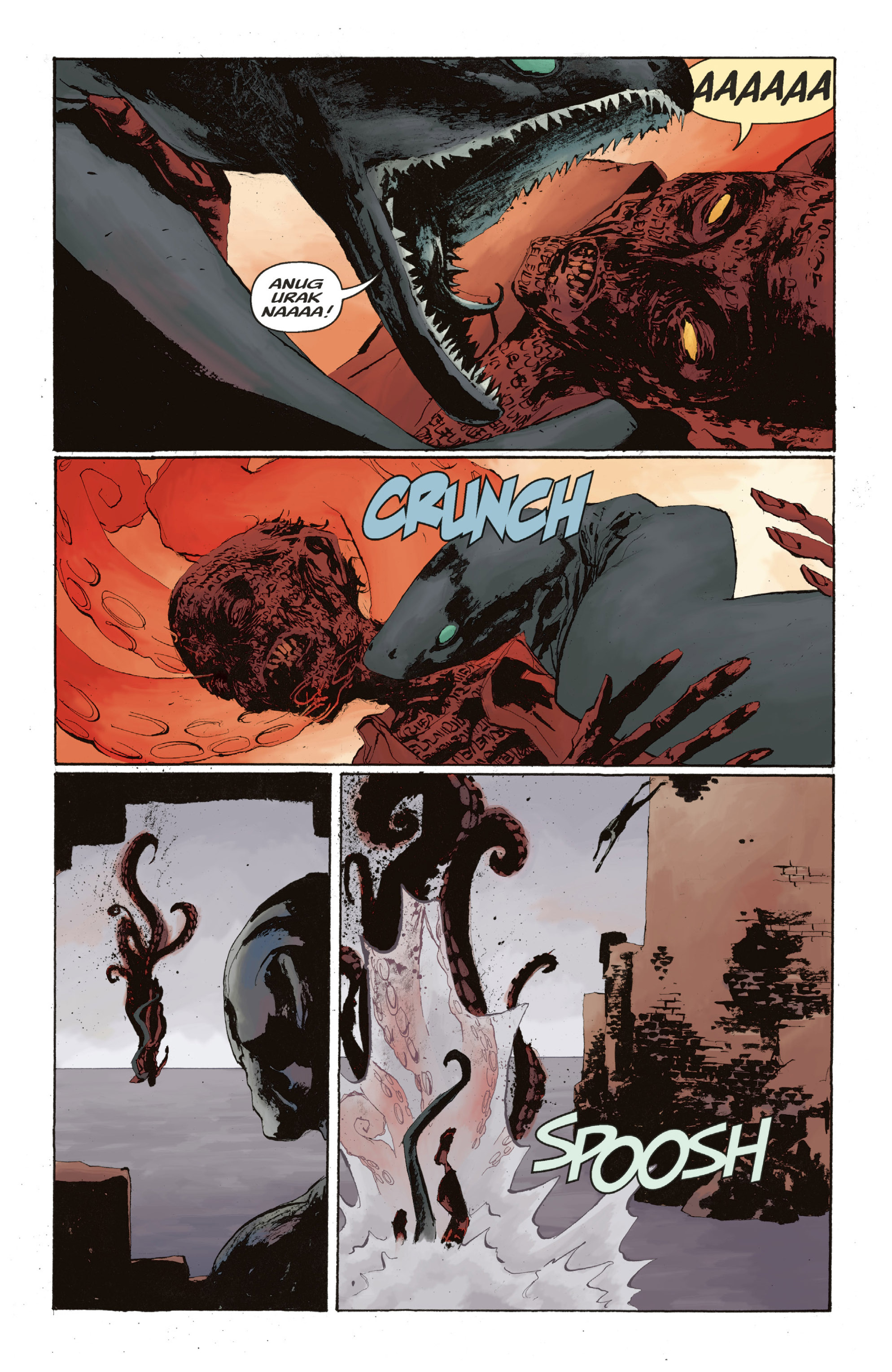 Read online Abe Sapien: The Drowning comic -  Issue #Abe Sapien: The Drowning _TPB - 130
