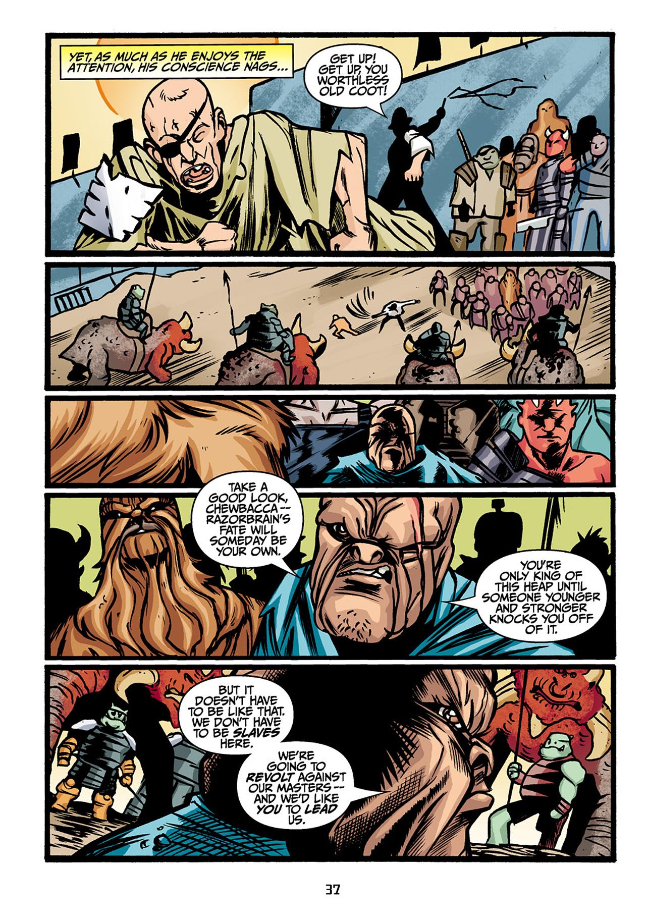 Read online Star Wars Omnibus comic -  Issue # Vol. 33 - 39