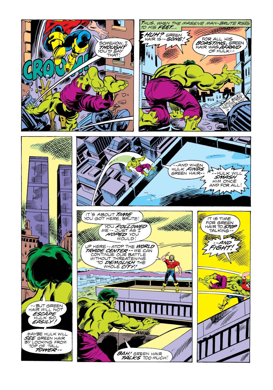 Read online Marvel Masterworks: The Incredible Hulk comic -  Issue # TPB 11 (Part 2) - 93