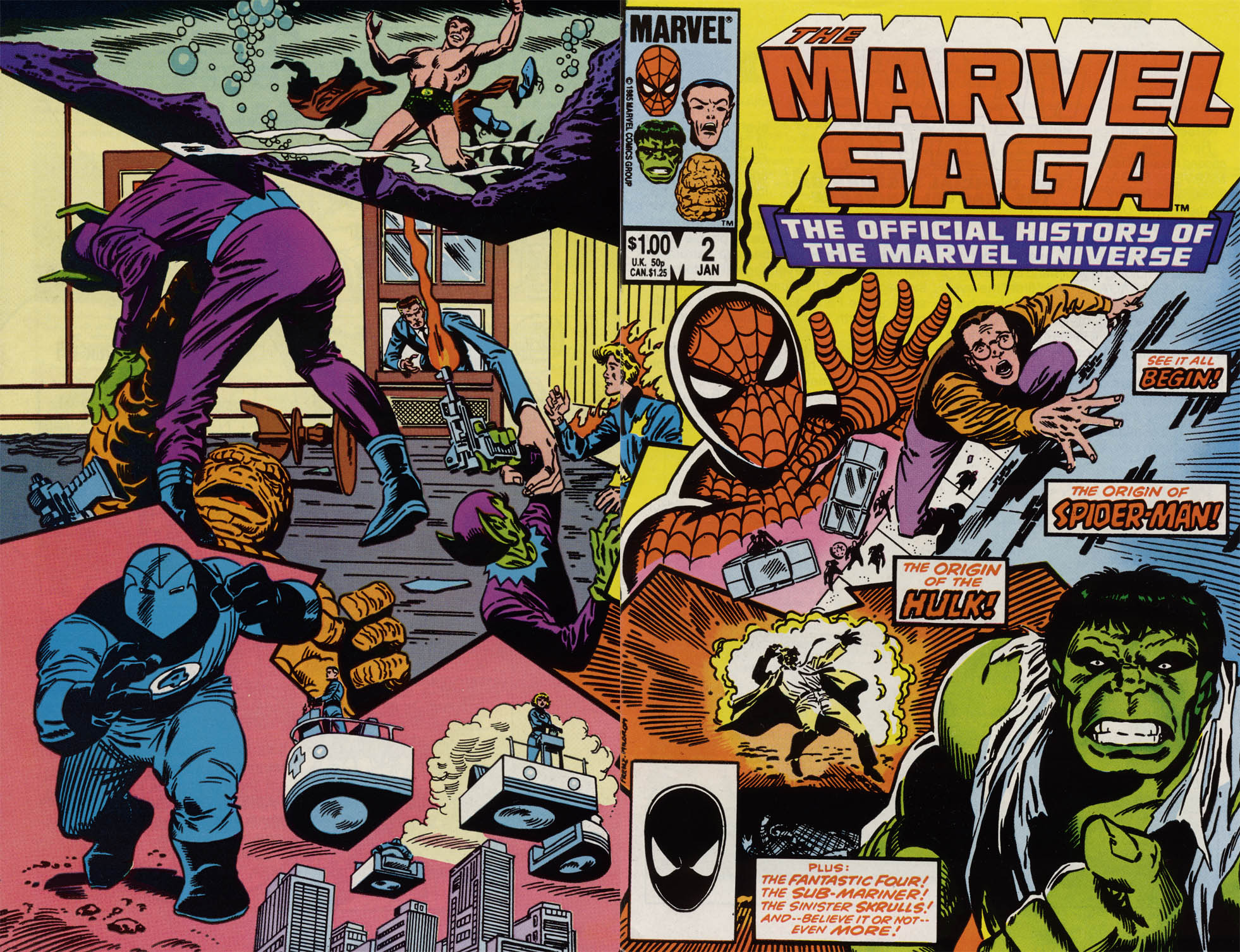 Marvel Saga: The Official History of the Marvel Universe 2 Page 1