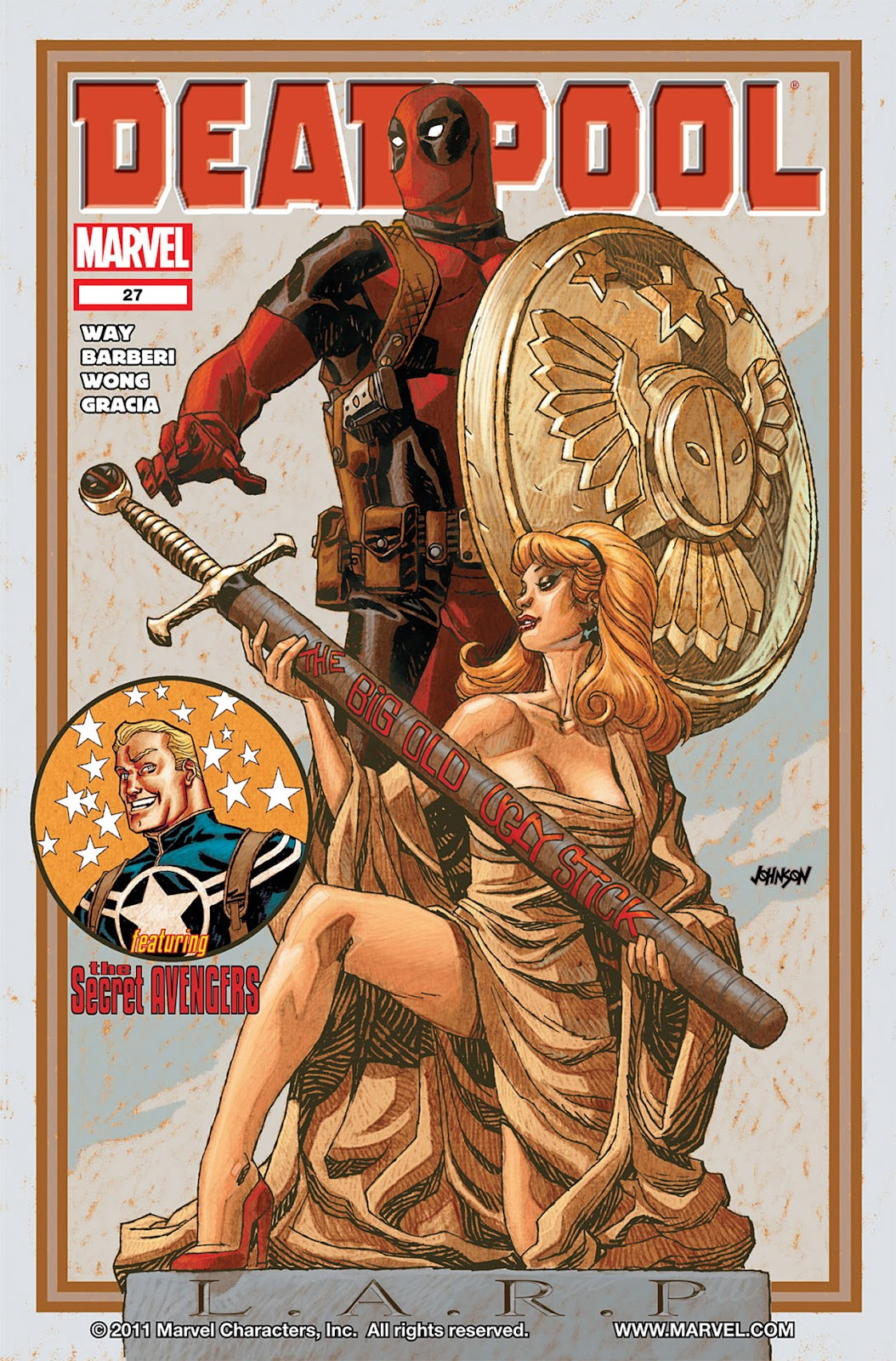 Read online Deadpool (2008) comic -  Issue #27 - 1