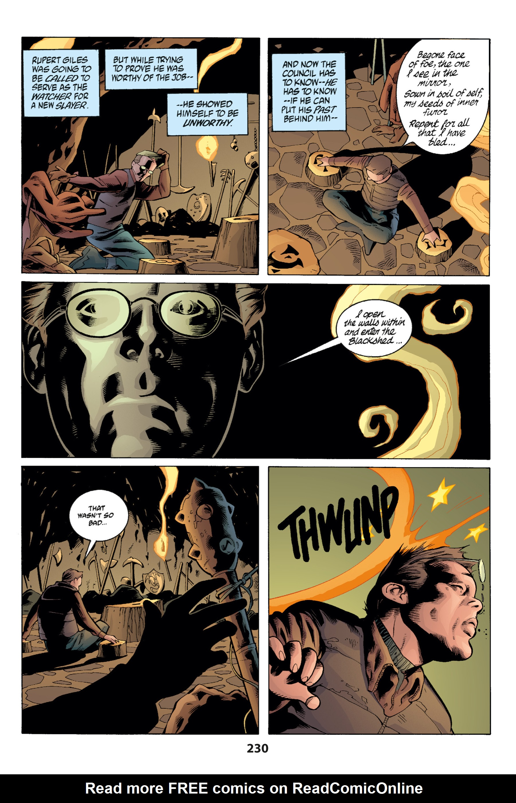 Read online Buffy the Vampire Slayer: Omnibus comic -  Issue # TPB 1 - 225