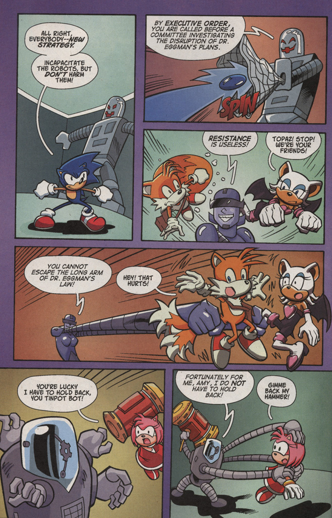Read online Sonic X comic -  Issue #4 - 12