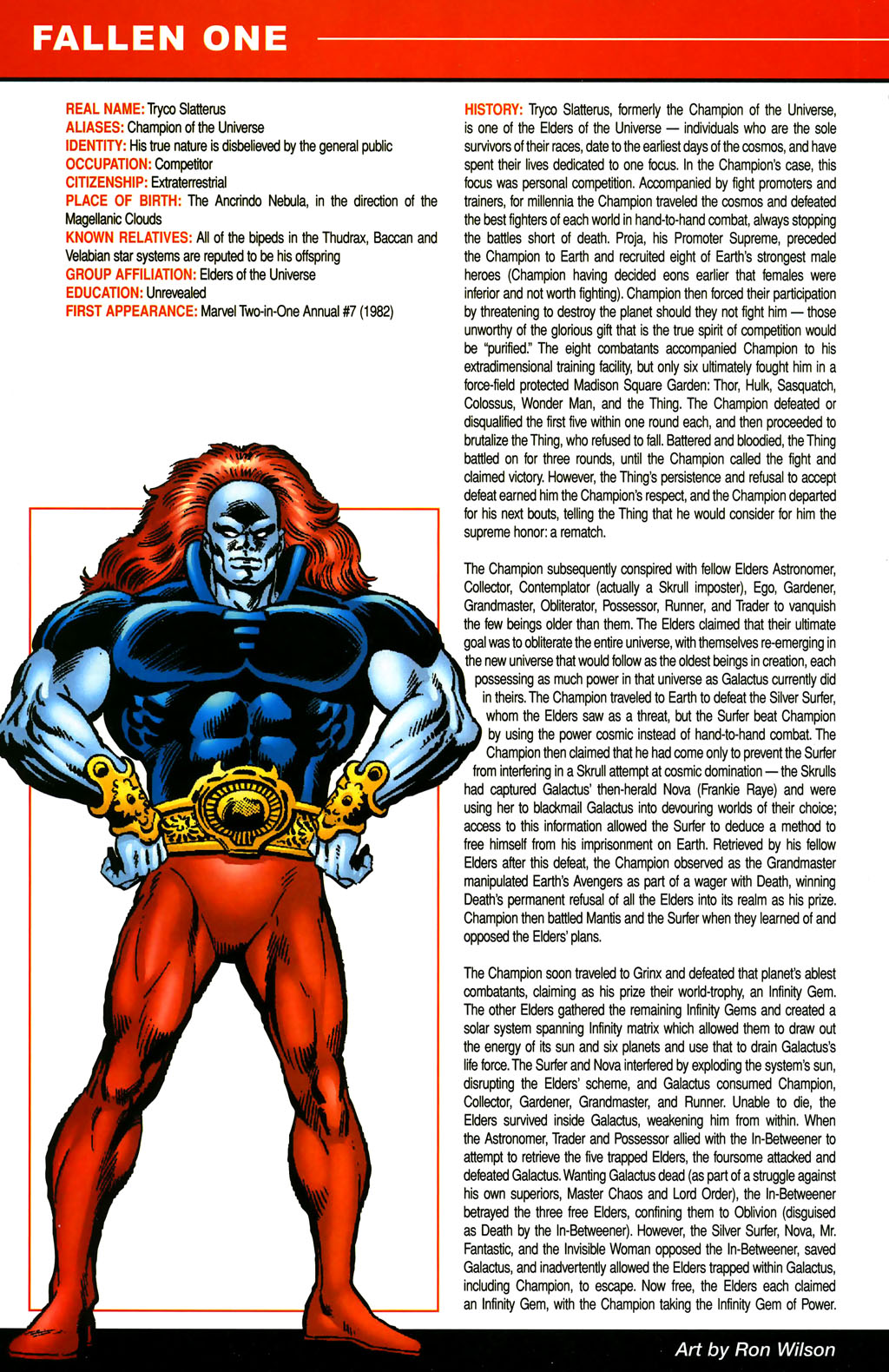 Read online All-New Official Handbook of the Marvel Universe A to Z comic -  Issue #4 - 26