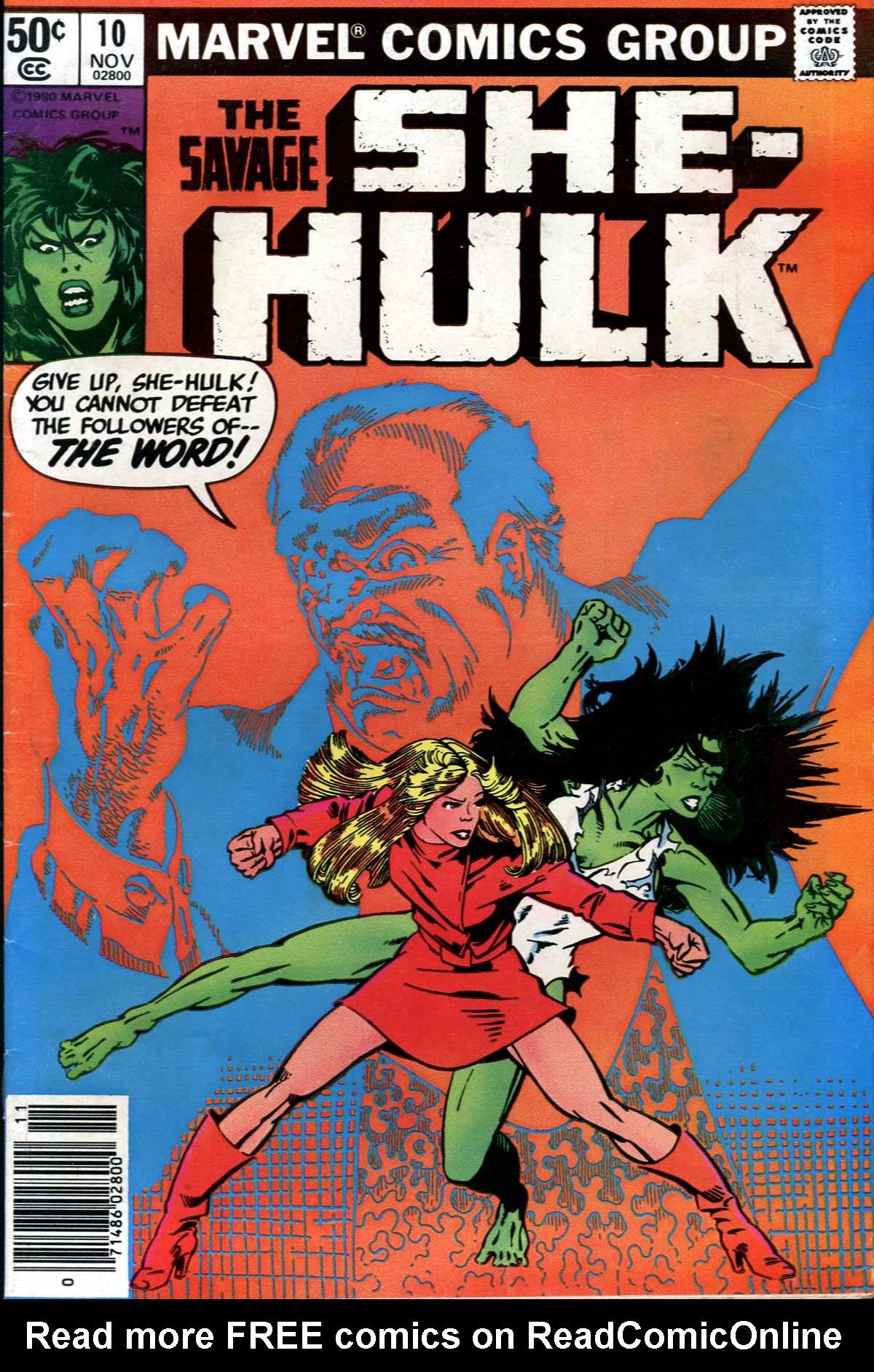 The Savage She-Hulk 10 Page 1