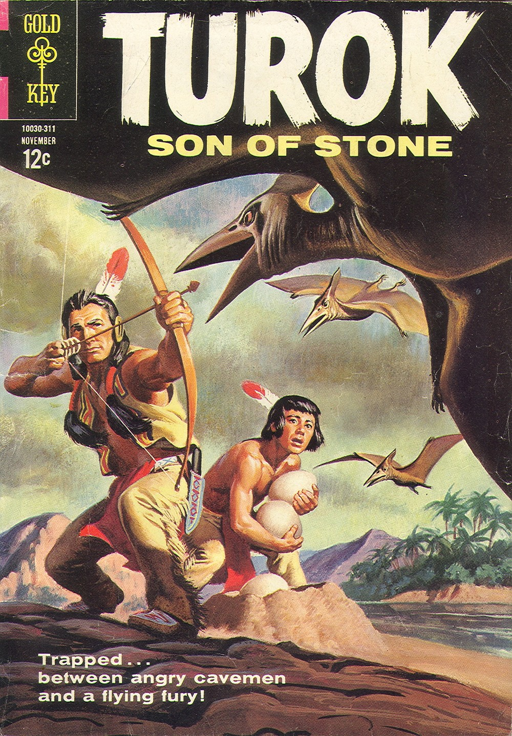 Read online Turok, Son of Stone comic -  Issue #36 - 1