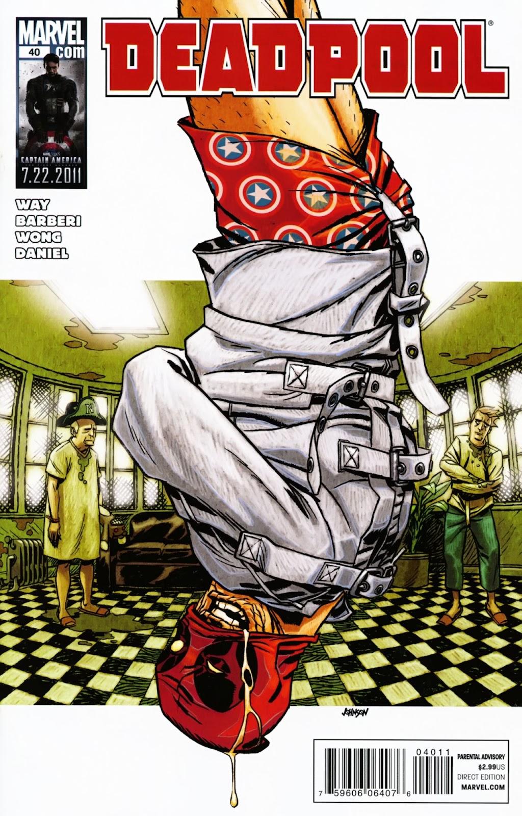 Read online Deadpool (2008) comic -  Issue #40 - 1