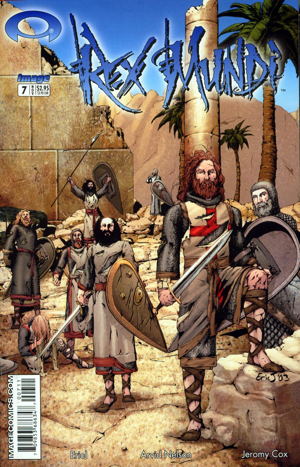 Read online Rex Mundi comic -  Issue #7 - 1
