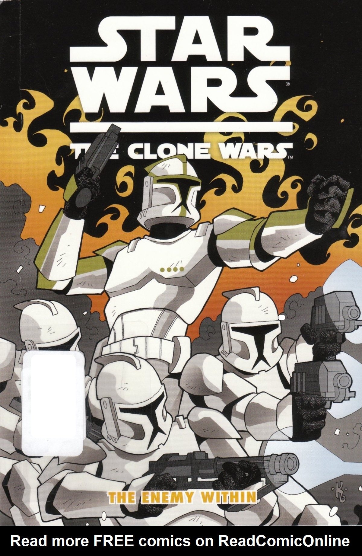 Read online Star Wars: The Clone Wars - The Enemy Within comic -  Issue # Full - 1