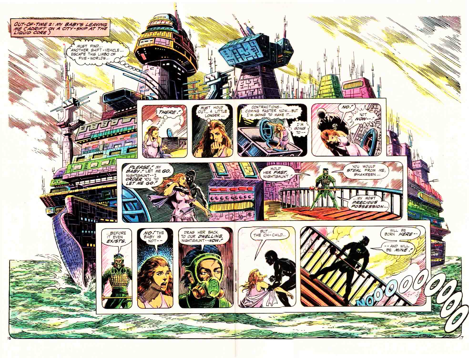 Read online Aztec Ace comic -  Issue #4 - 16