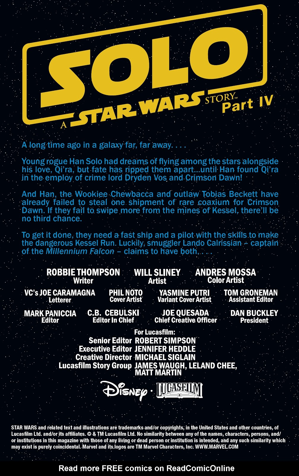 Read online Solo: A Star Wars Story Adaptation comic -  Issue #4 - 2