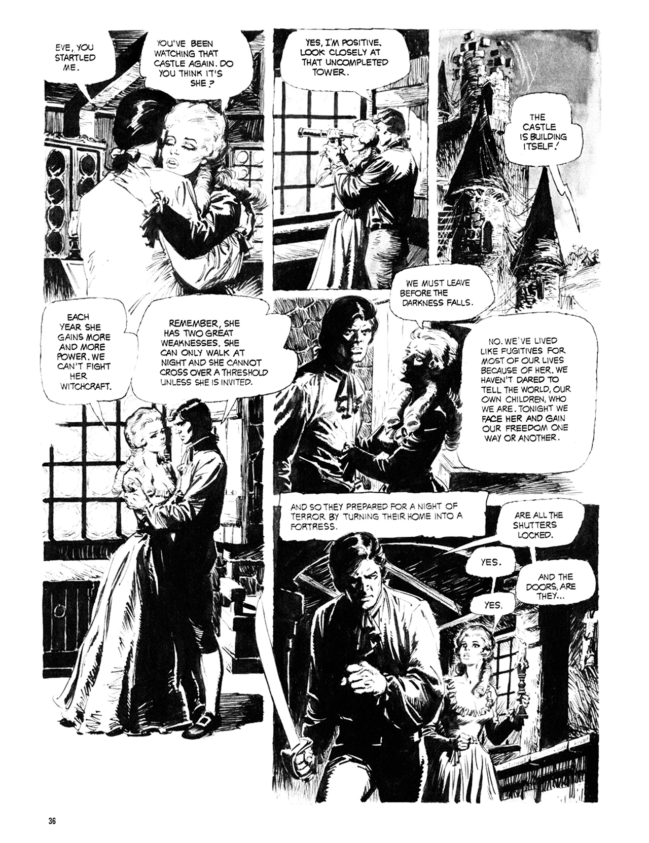 Read online Eerie Archives comic -  Issue # TPB 10 - 37