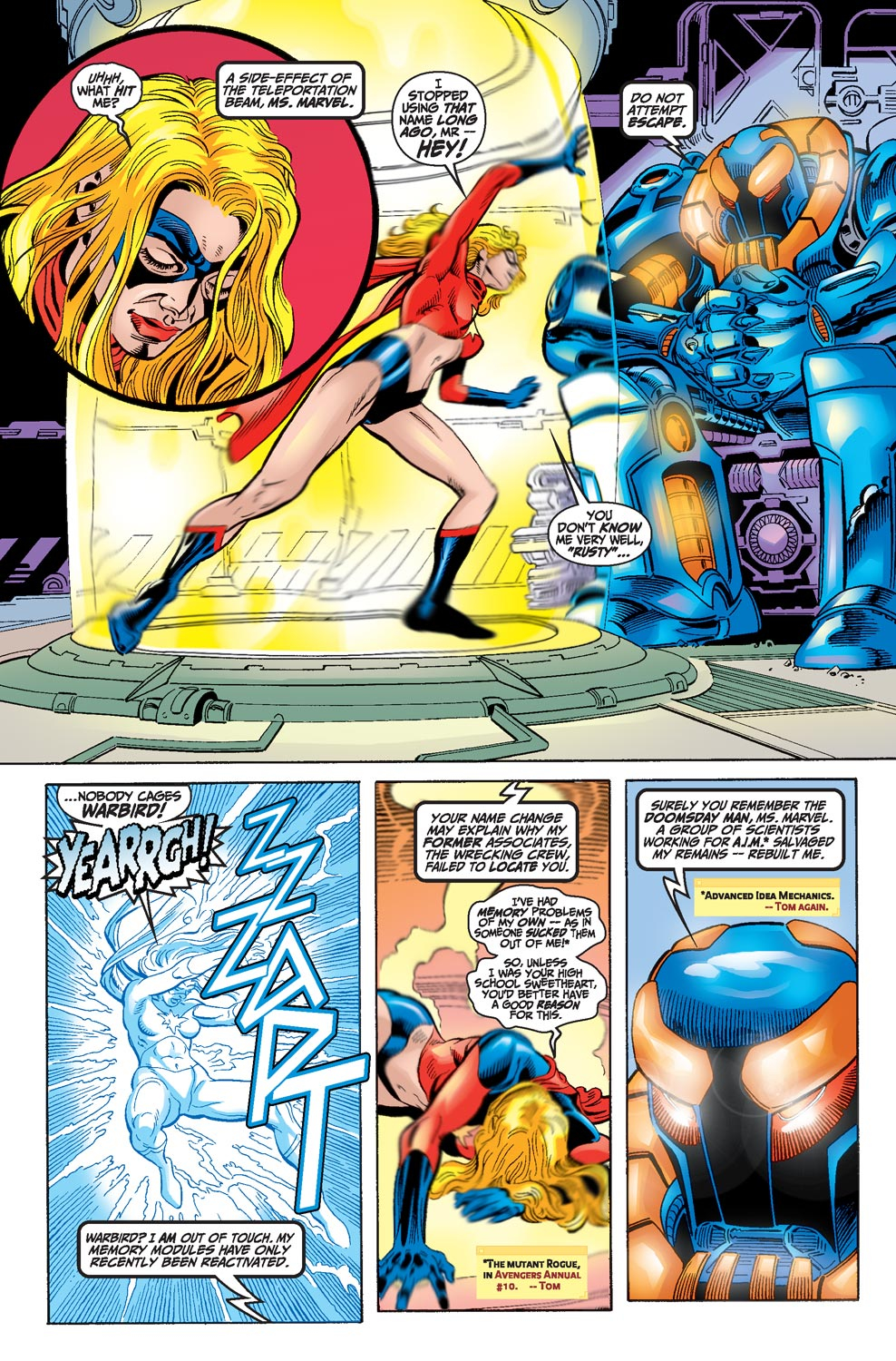 Read online Avengers (1998) comic -  Issue #17 - 6