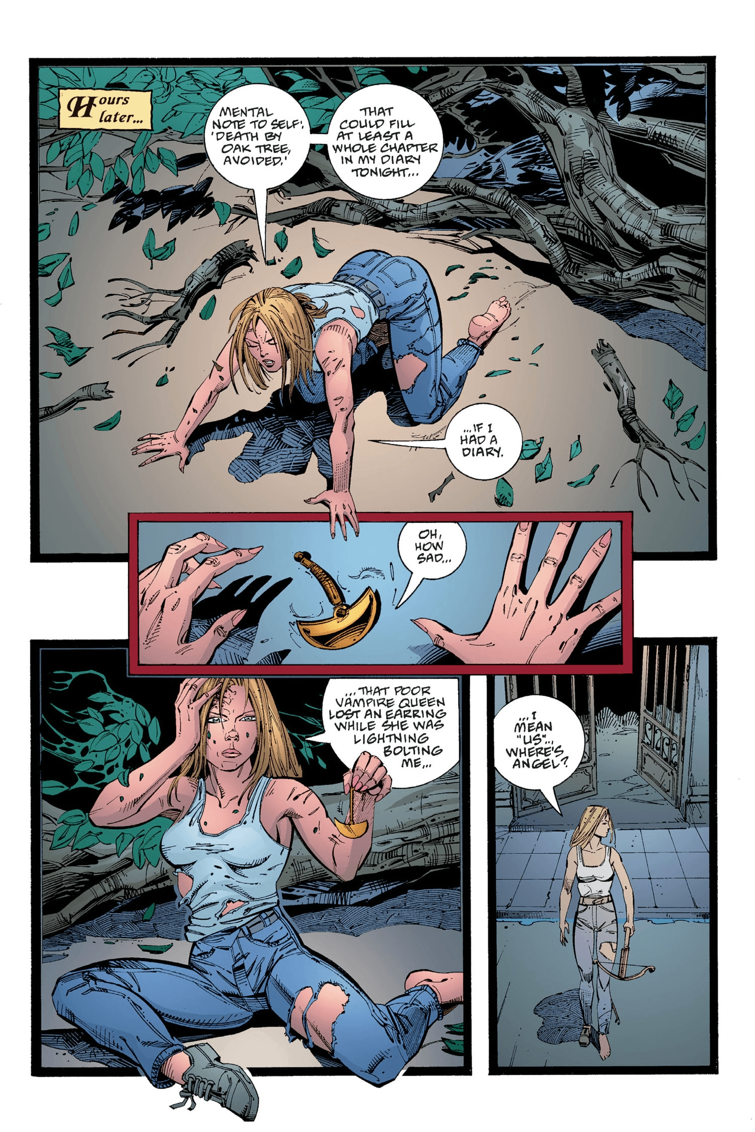 Read online Buffy the Vampire Slayer: Omnibus comic -  Issue # TPB 2 - 260