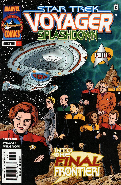 Star Trek: Voyager--Splashdown issue 4 - Page 1