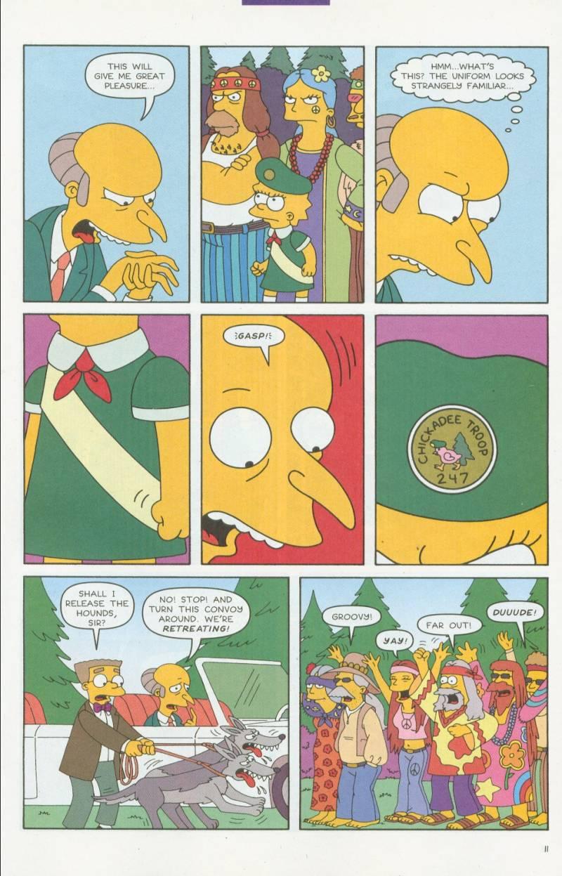 Read online Simpsons Comics comic -  Issue #63 - 12