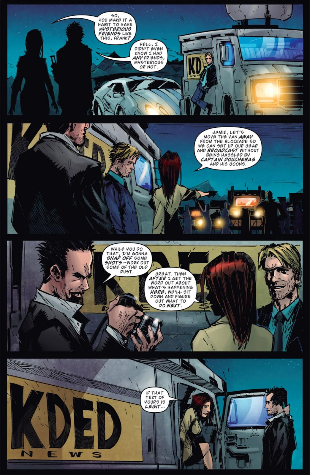Read online Dead Rising: Road to Fortune comic -  Issue #4 - 19