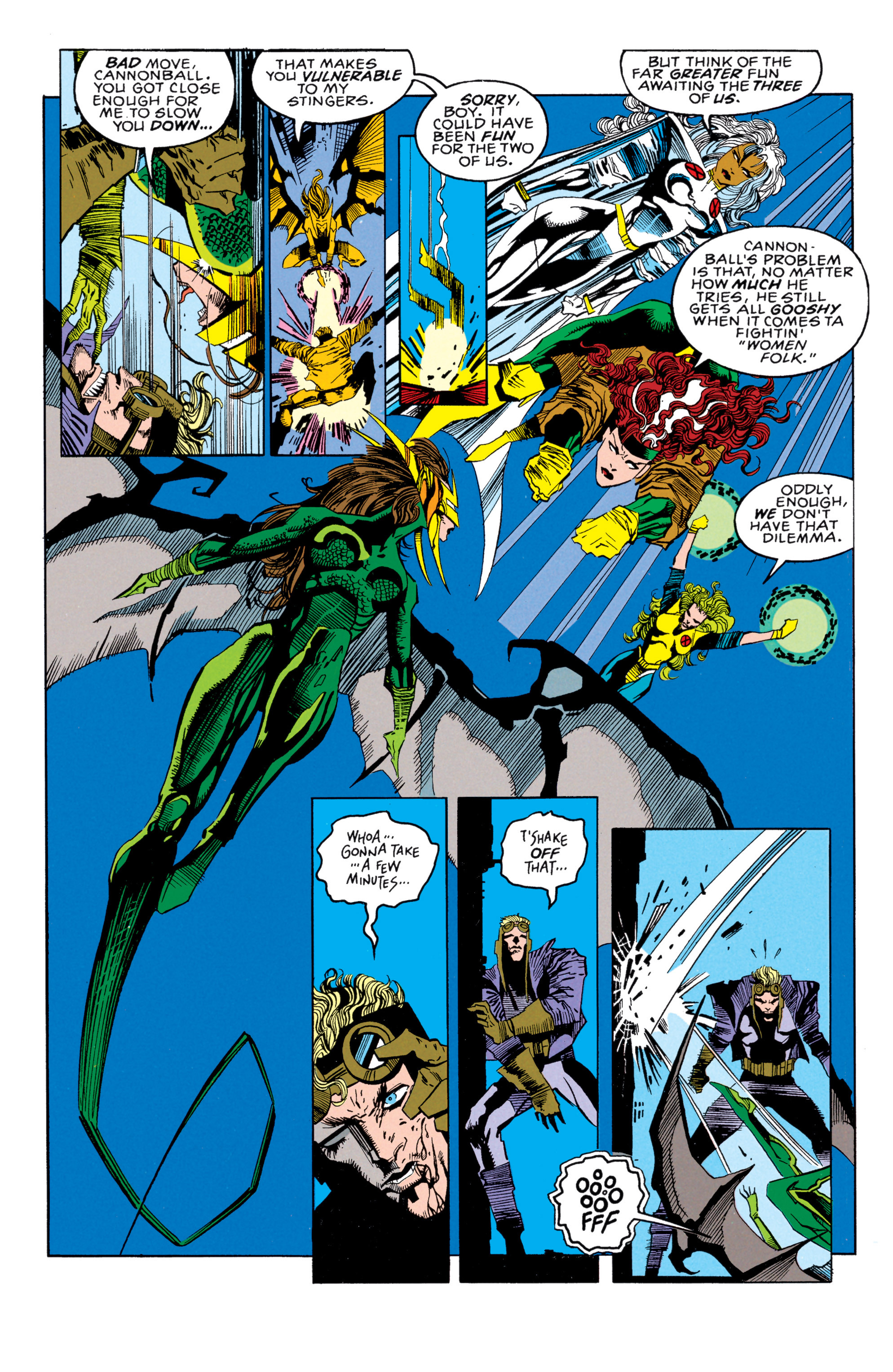 Read online X-Factor (1986) comic -  Issue #85 - 12