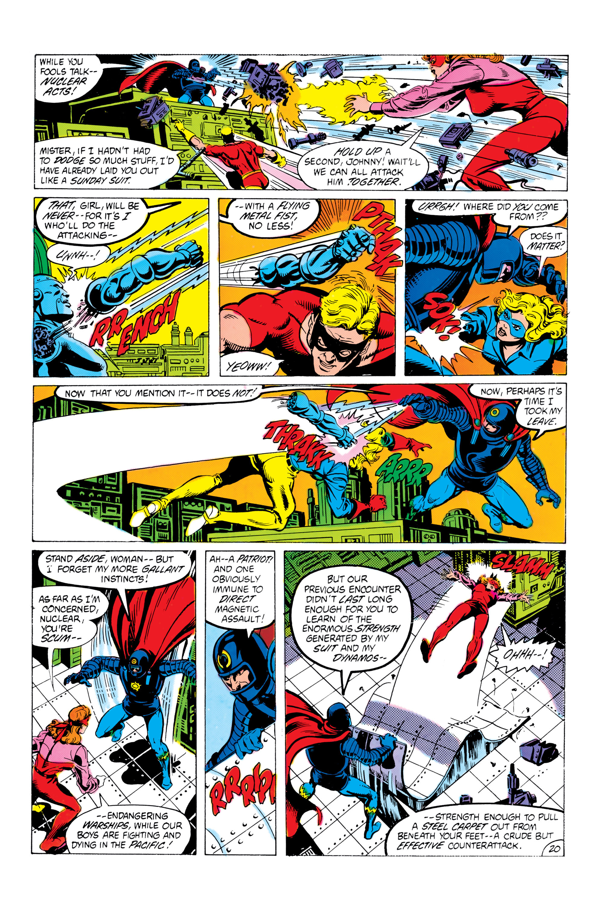 Read online All-Star Squadron comic -  Issue #16 - 21