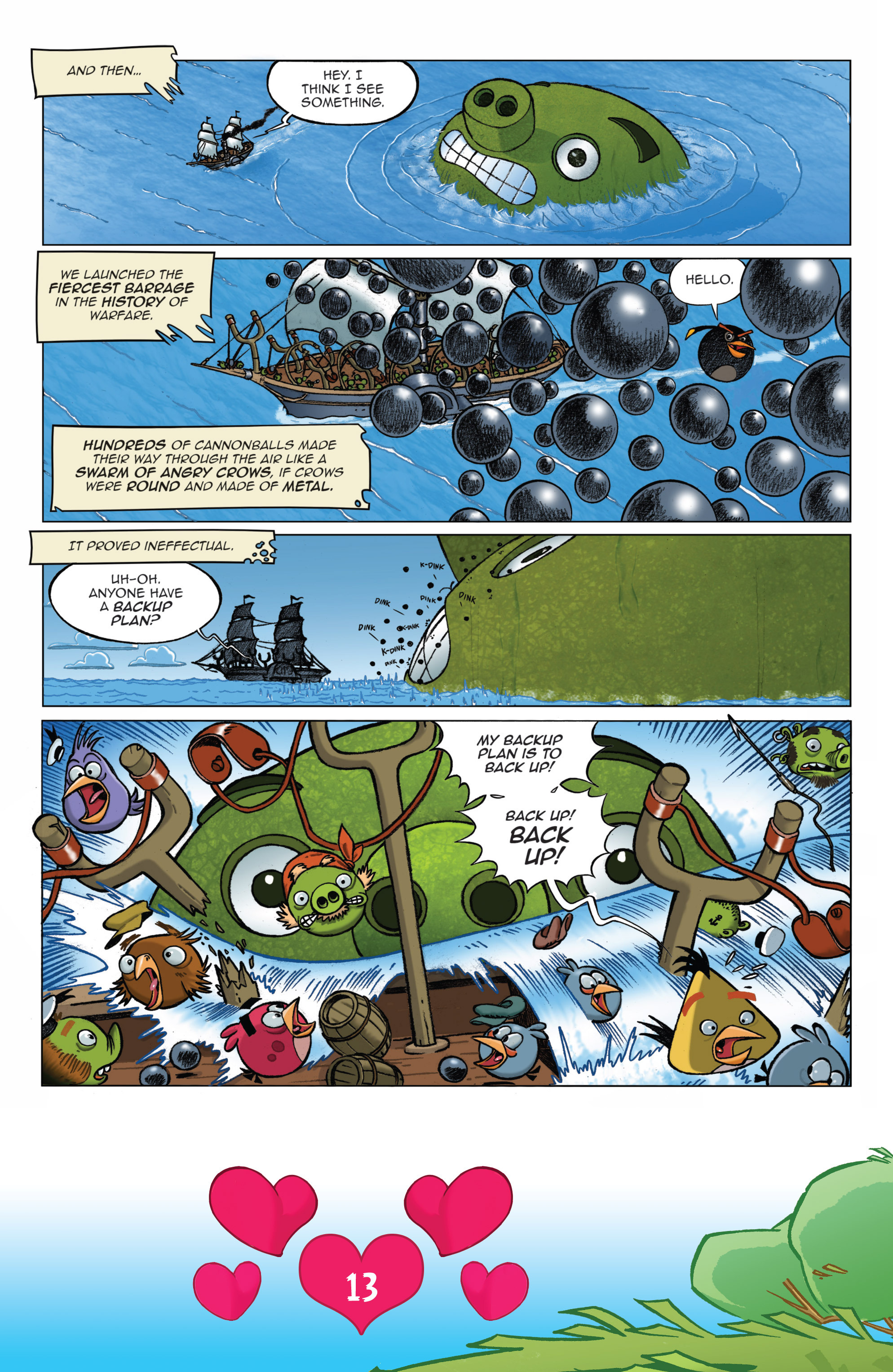 Read online Angry Birds Comics (2016) comic -  Issue #2 - 15