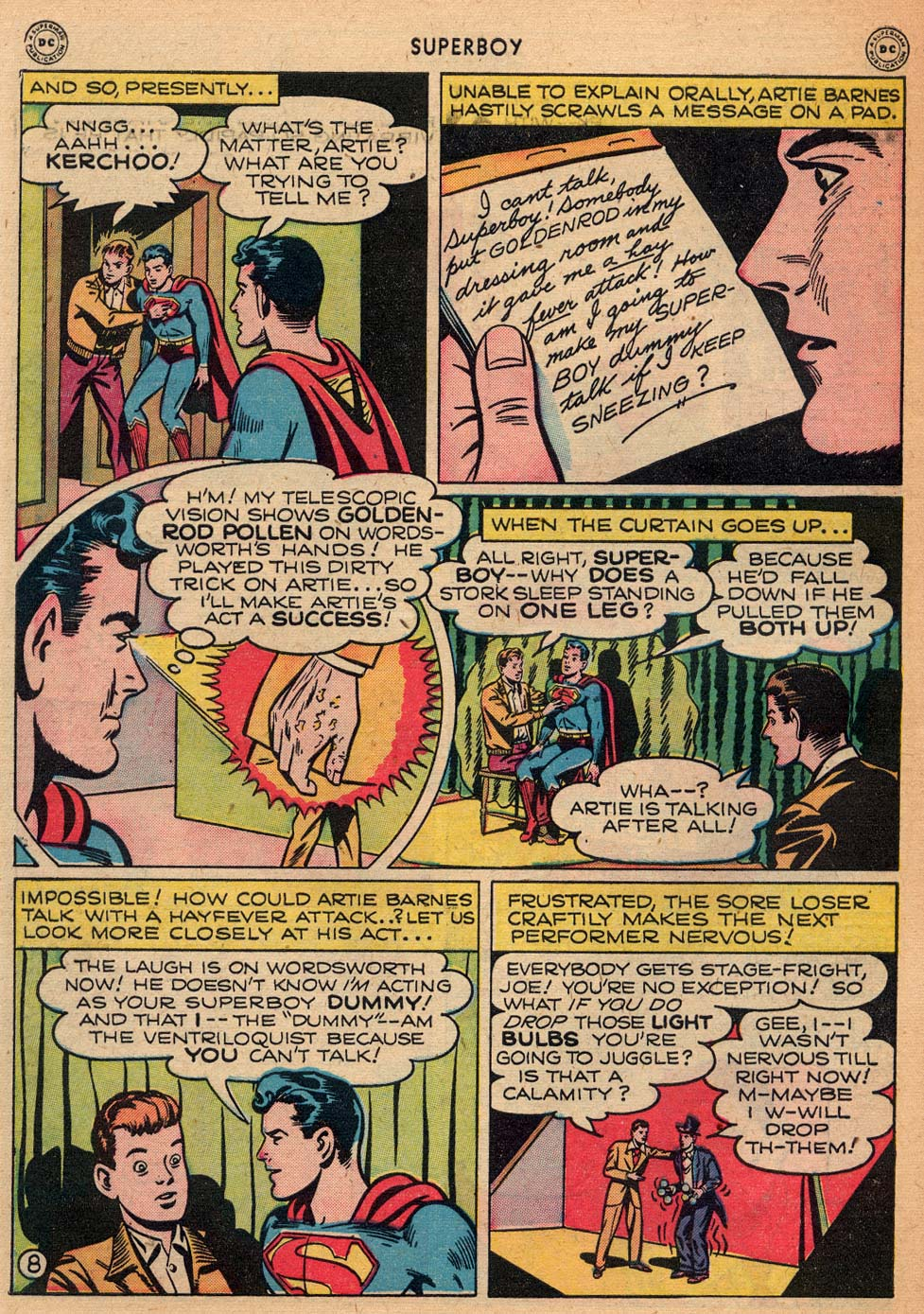 Superboy (1949) issue 3 - Page 36