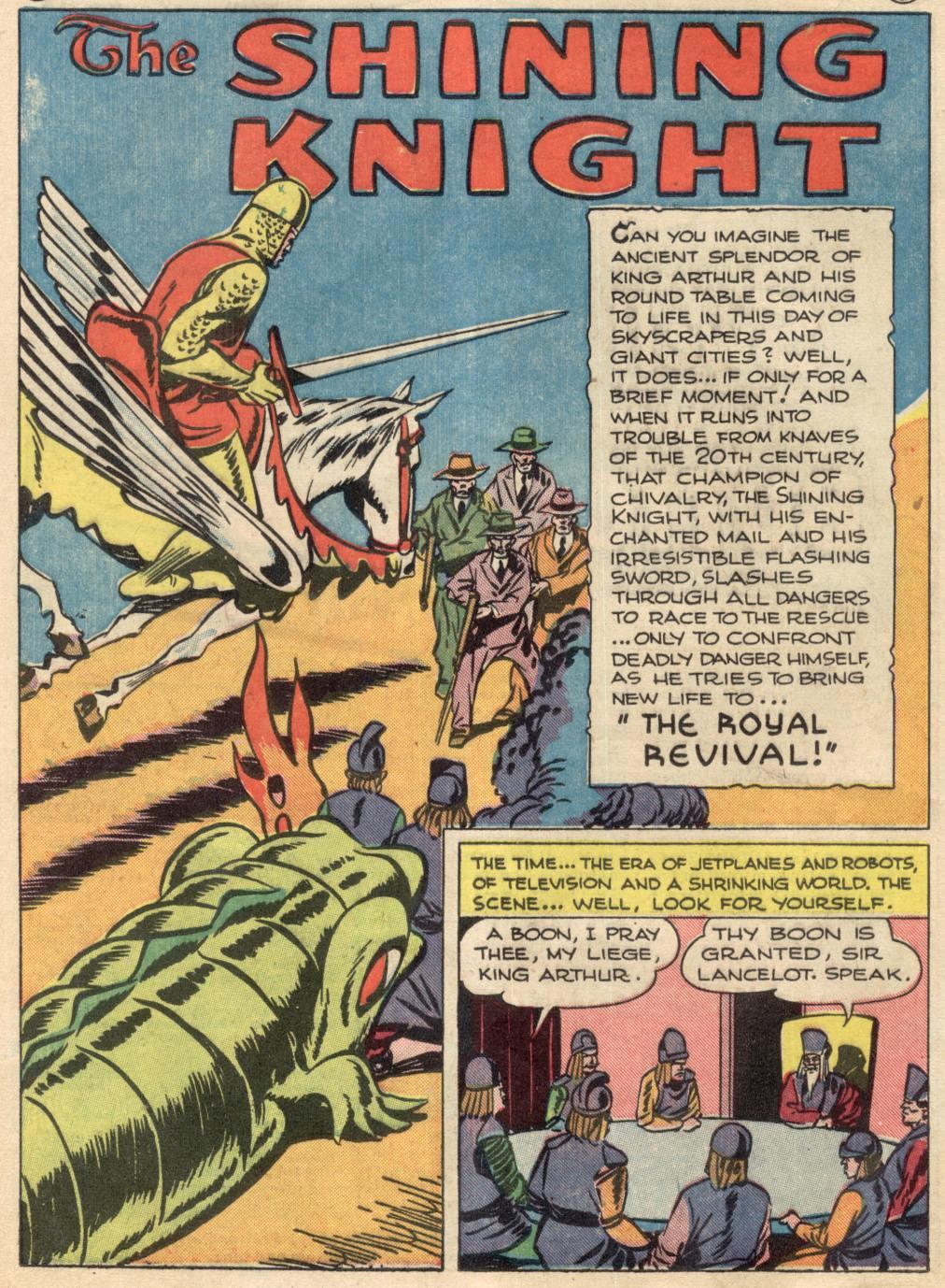 Read online Adventure Comics (1938) comic -  Issue #100 - 22