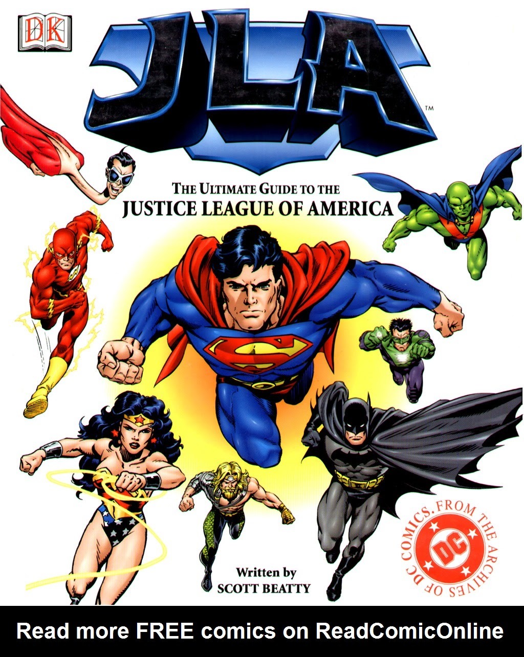 JLA: The Ultimate Guide to The Justice League of America Full Page 1