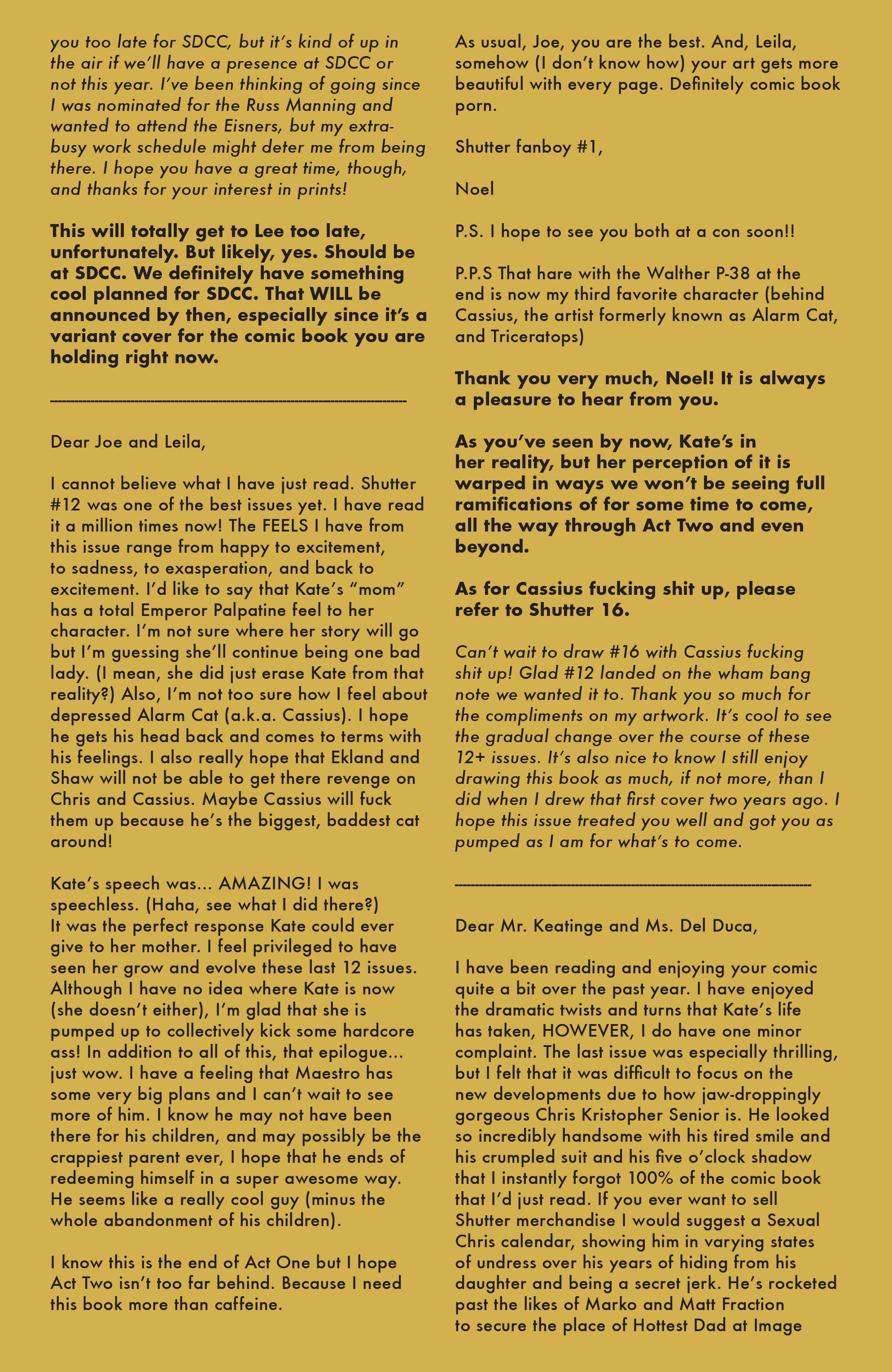 Read online Shutter comic -  Issue #13 - 22