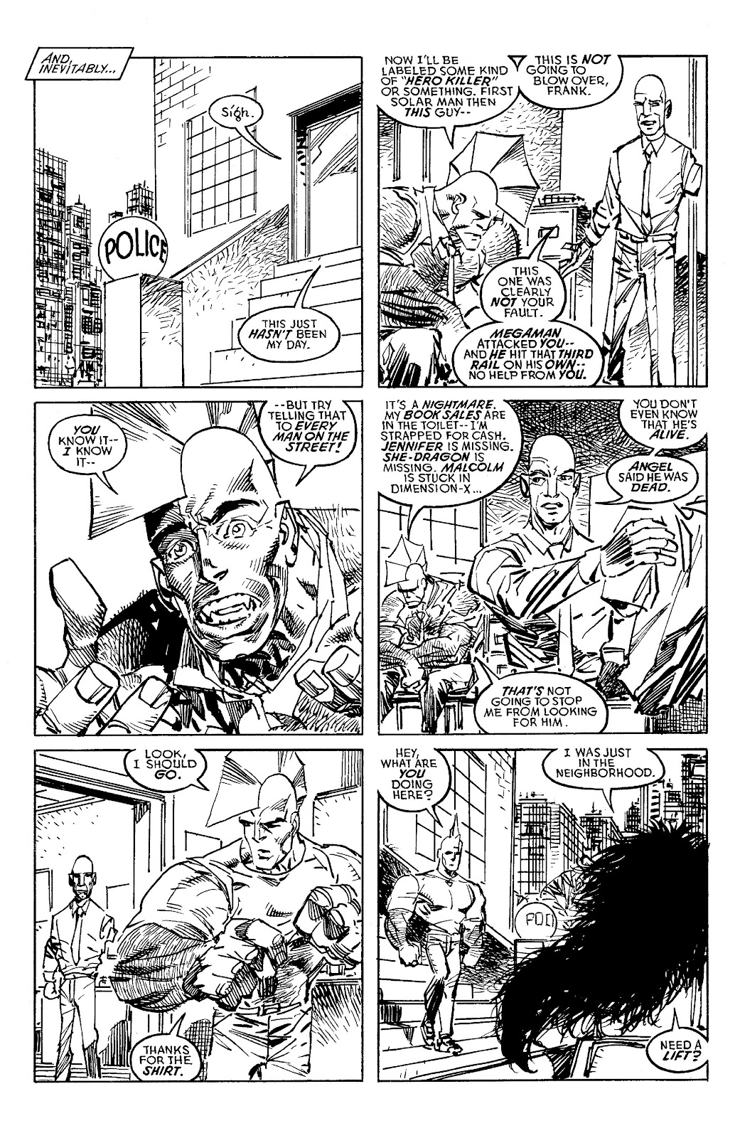 Read online Savage Dragon Archives comic -  Issue # TPB 6 (Part 4) - 28