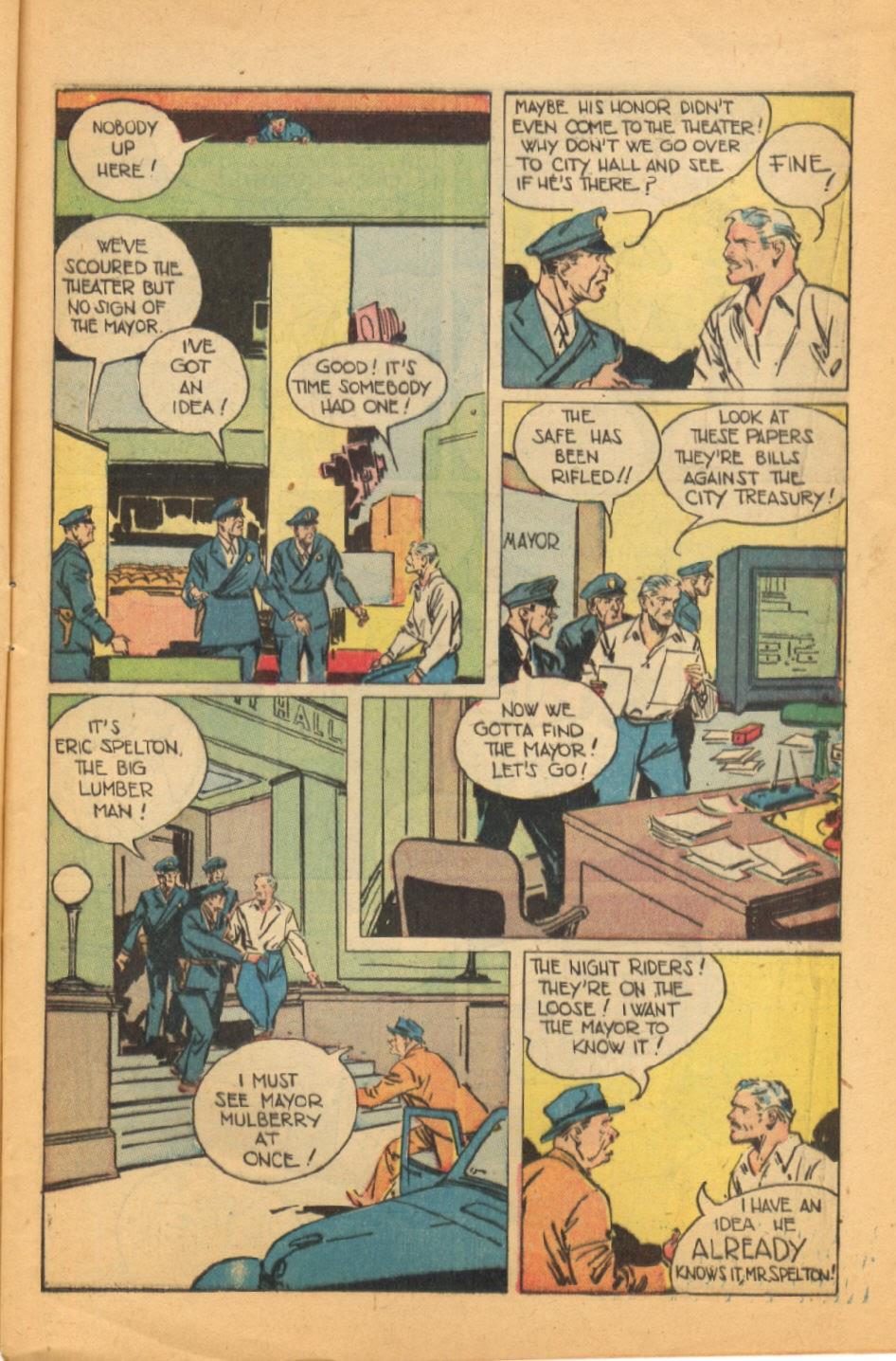 Read online Super-Magician Comics comic -  Issue #44 - 9